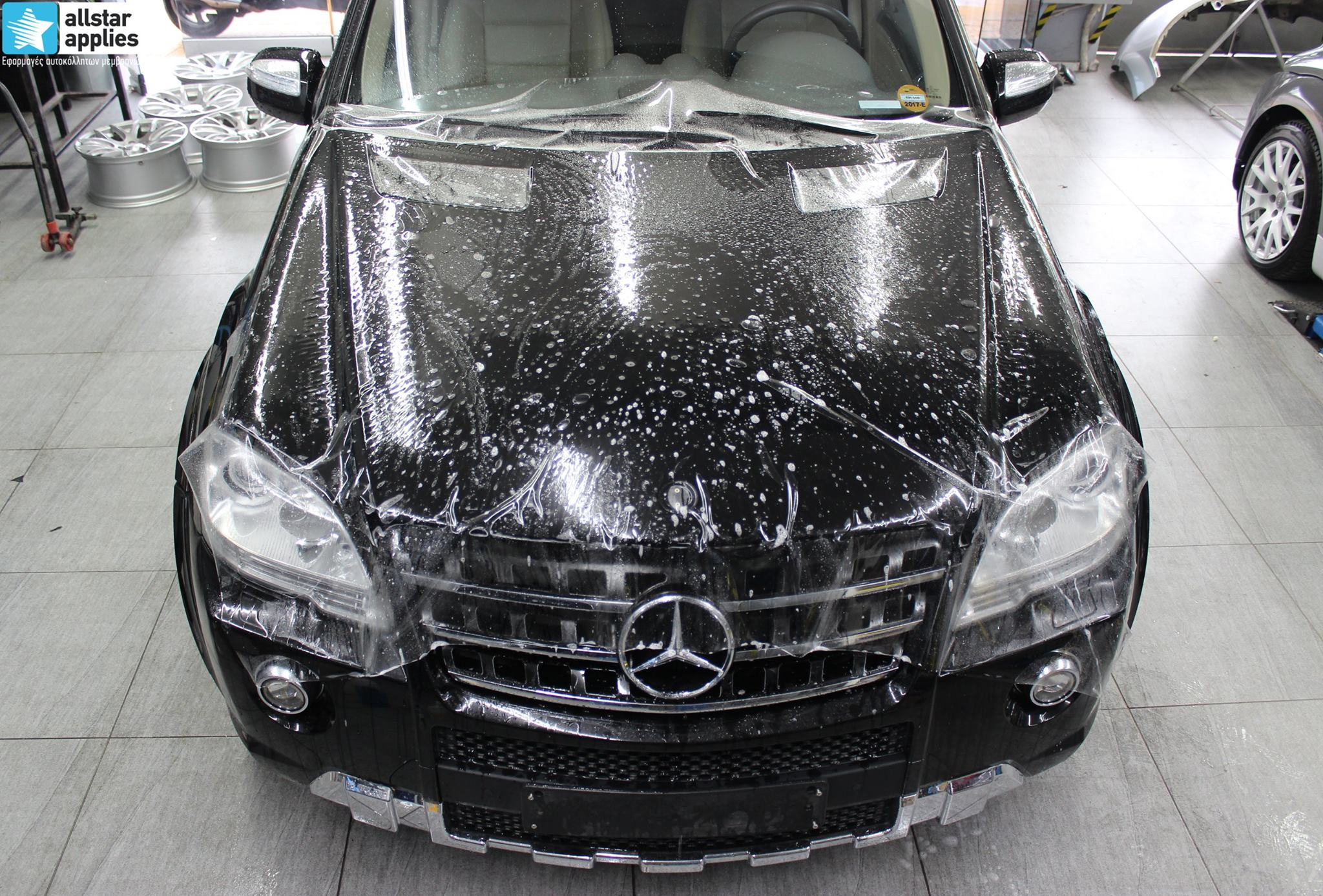 Mercedes ML – Paint Protection Film (2)