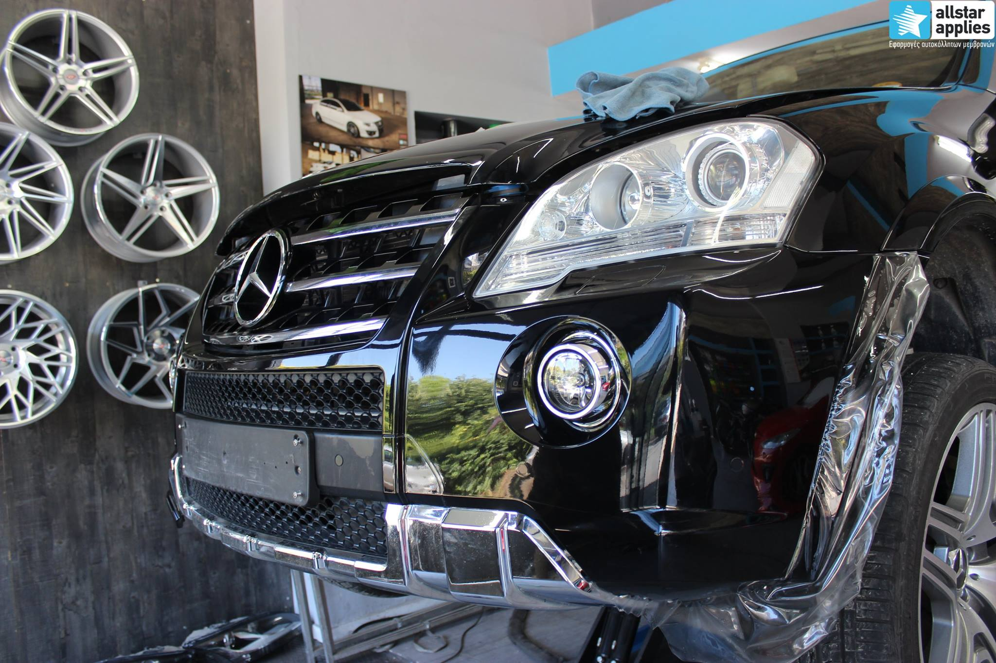 Mercedes ML – Paint Protection Film (4)
