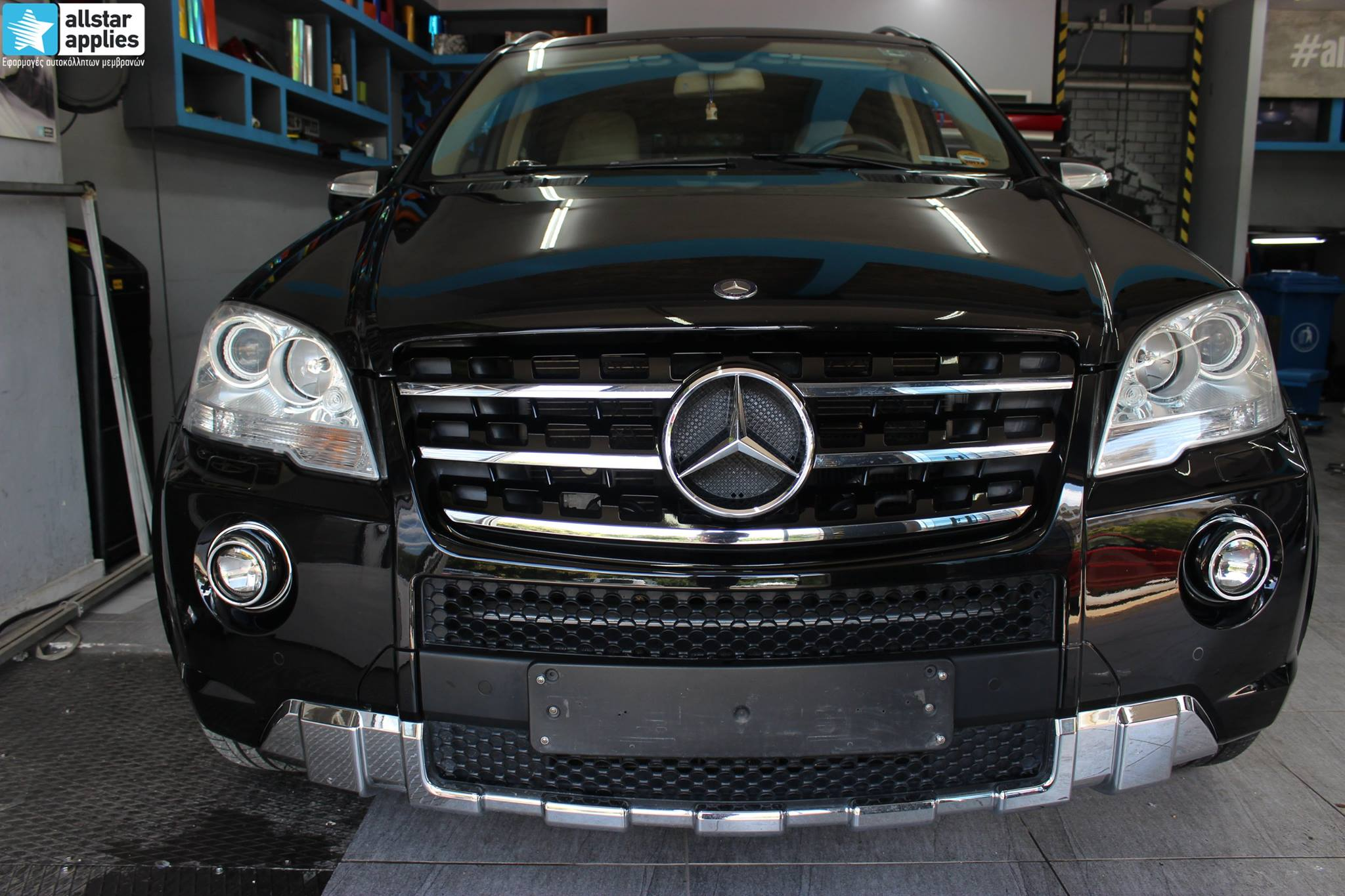 Mercedes ML – Paint Protection Film (6)