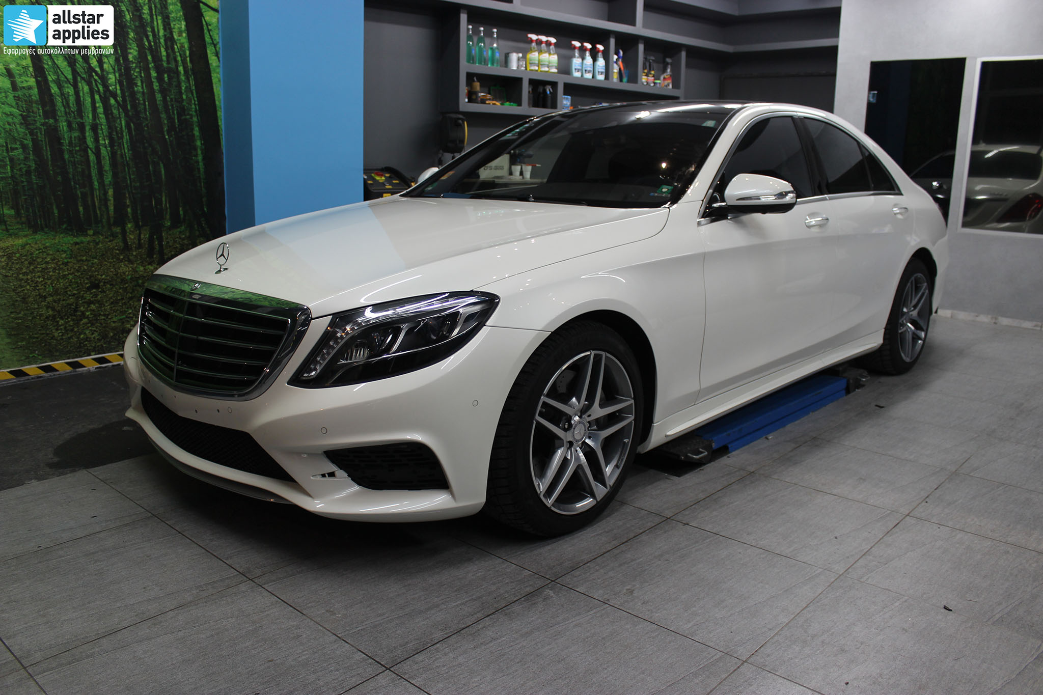 Mercedes S500 AMG - Paint Protection Film (1)
