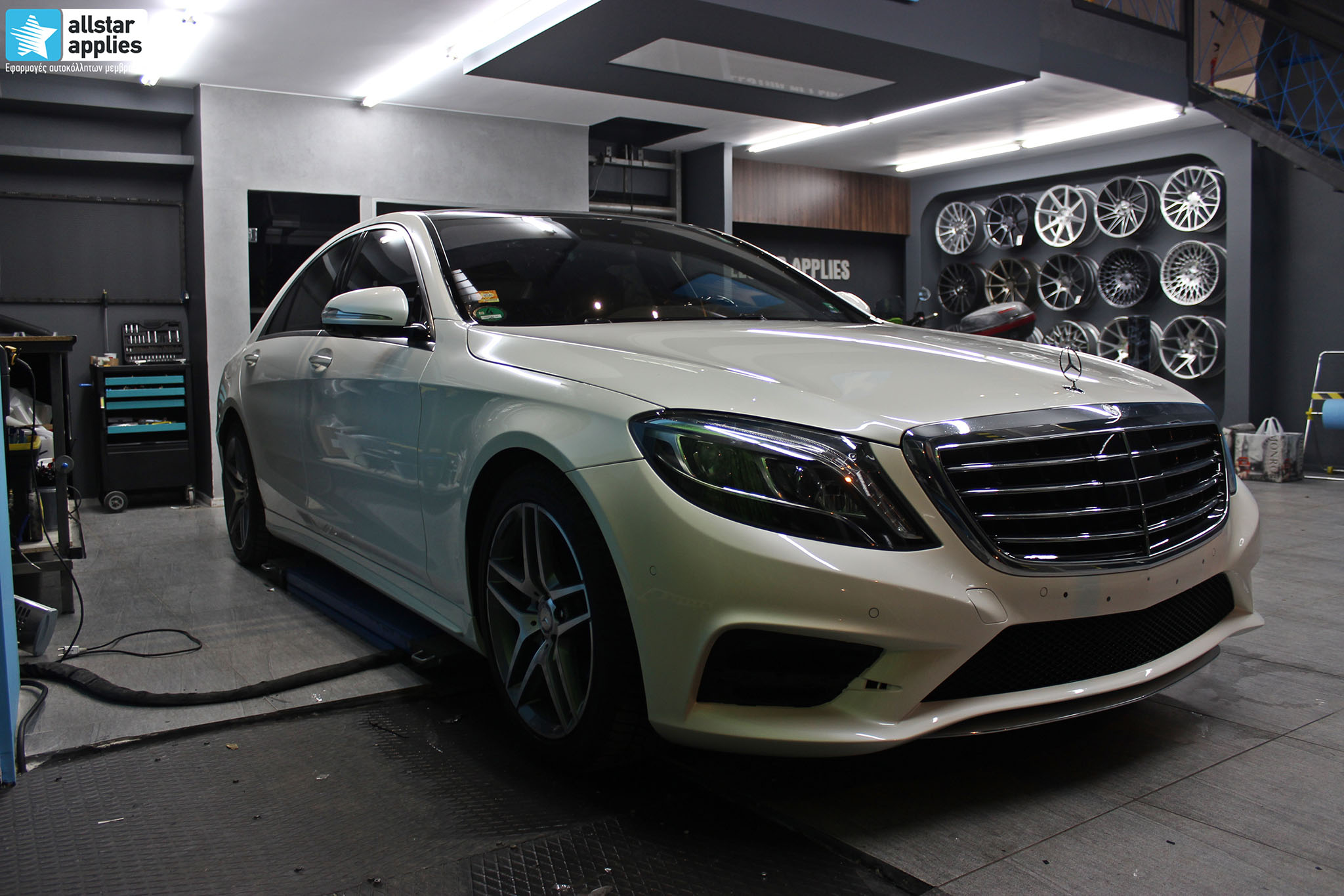 Mercedes S500 AMG - Paint Protection Film (2)