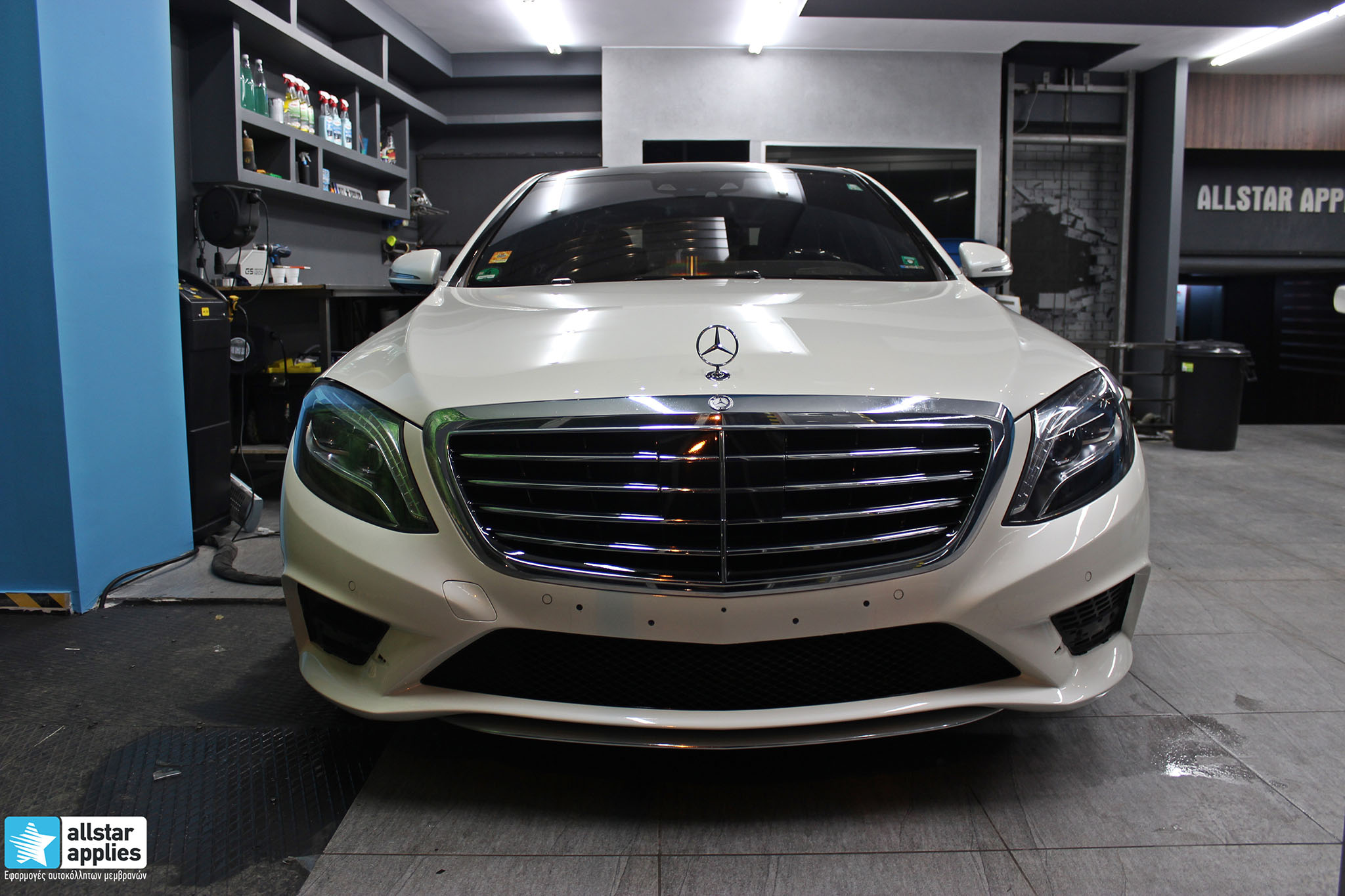 Mercedes S500 AMG - Paint Protection Film (3)
