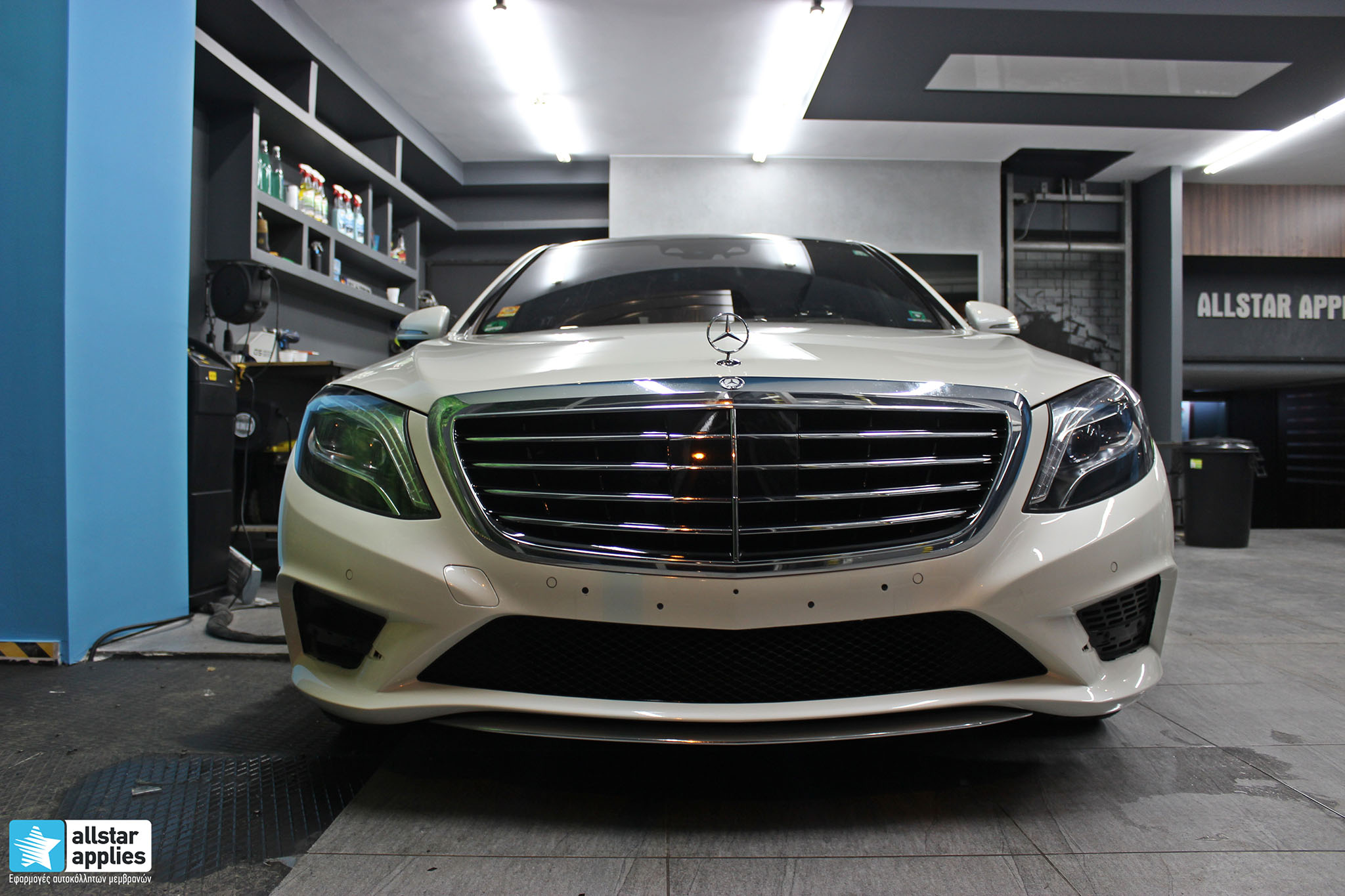Mercedes S500 AMG - Paint Protection Film (4)