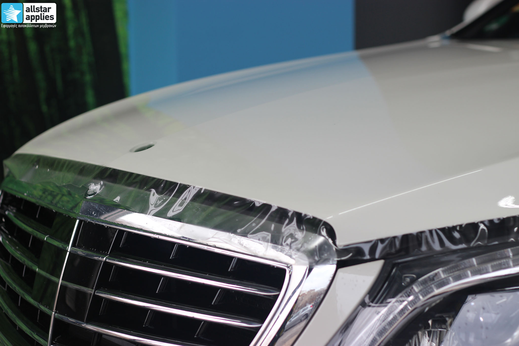 Mercedes S500 AMG - Paint Protection Film (5)