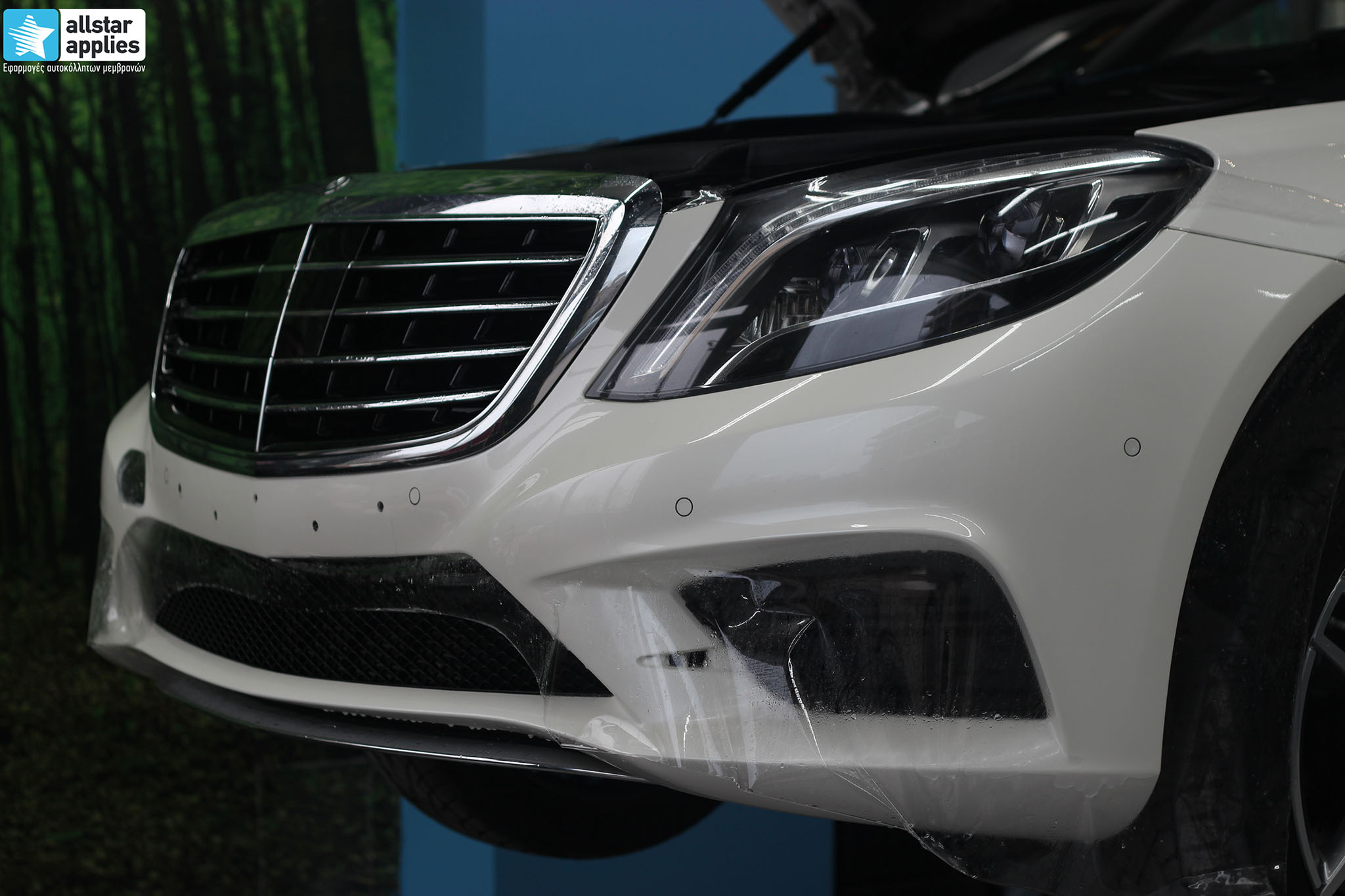 Mercedes S500 AMG - Paint Protection Film (7)