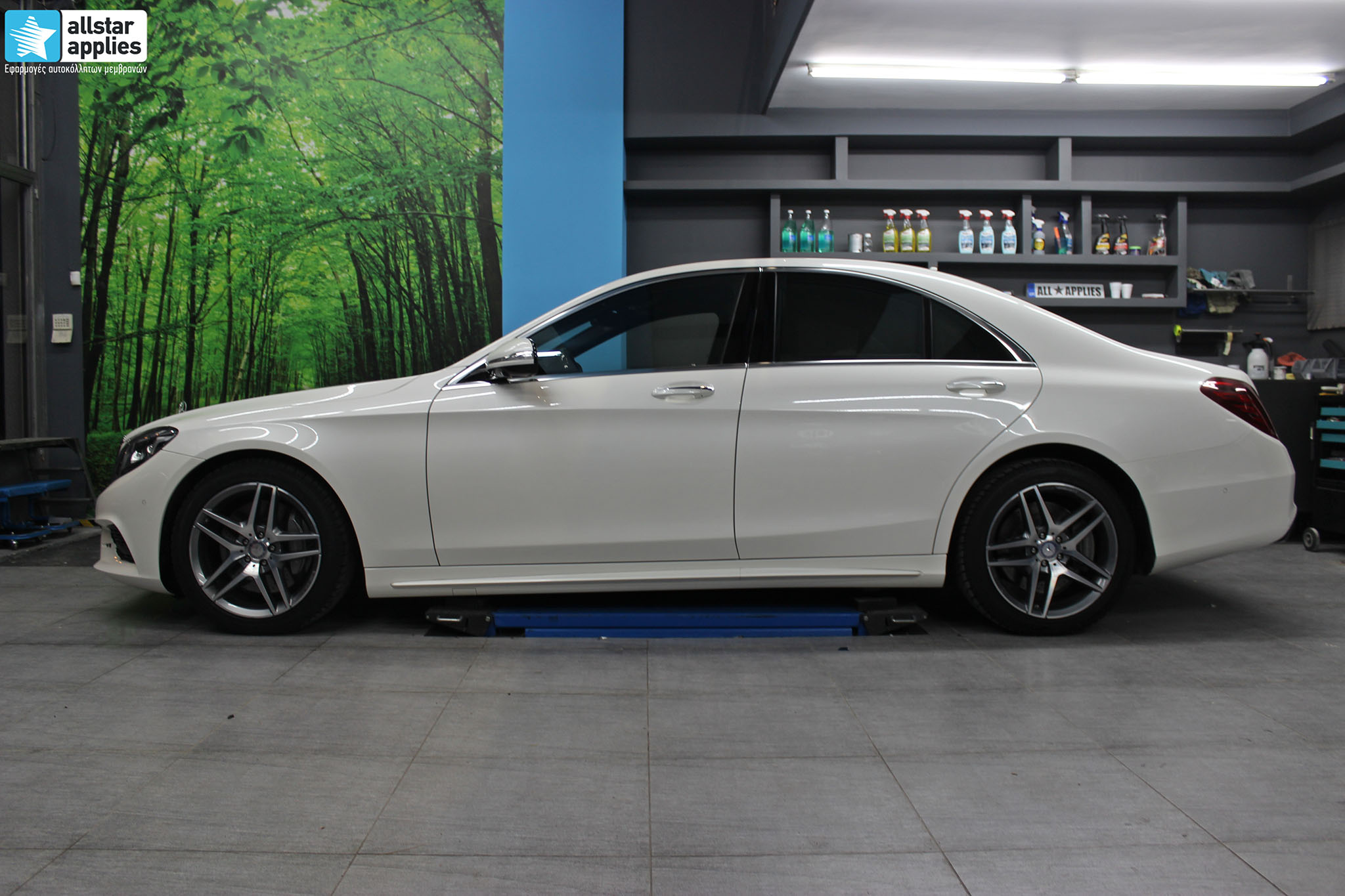 Mercedes S500 AMG - Paint Protection Film (9)
