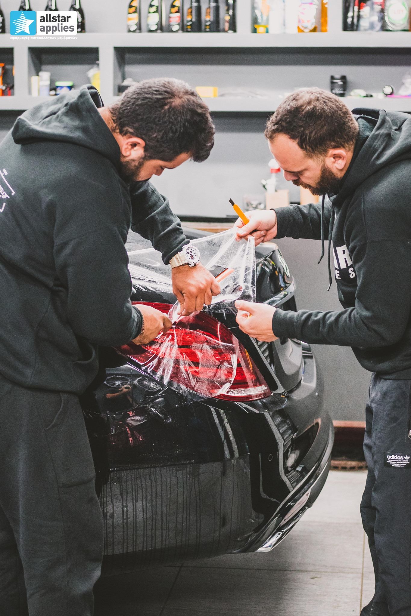 μεμβράνες προστασίας χρώματος Mercedes AMG Θεσσαλονίκη
