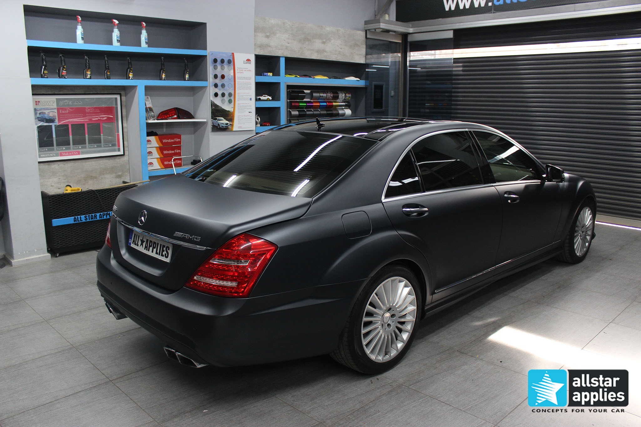 Mercedes S65 - Magnetic Black (1)