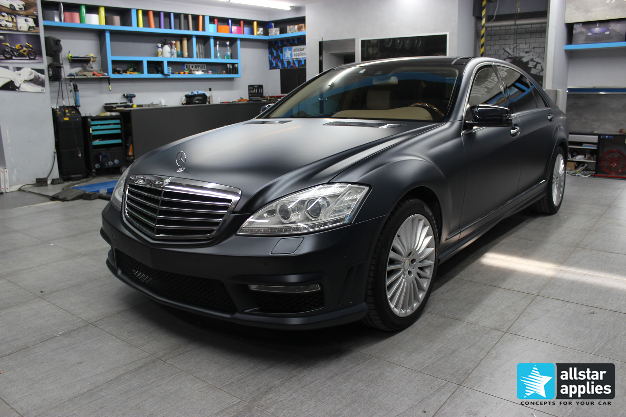 Mercedes S65 - Magnetic Black (2)