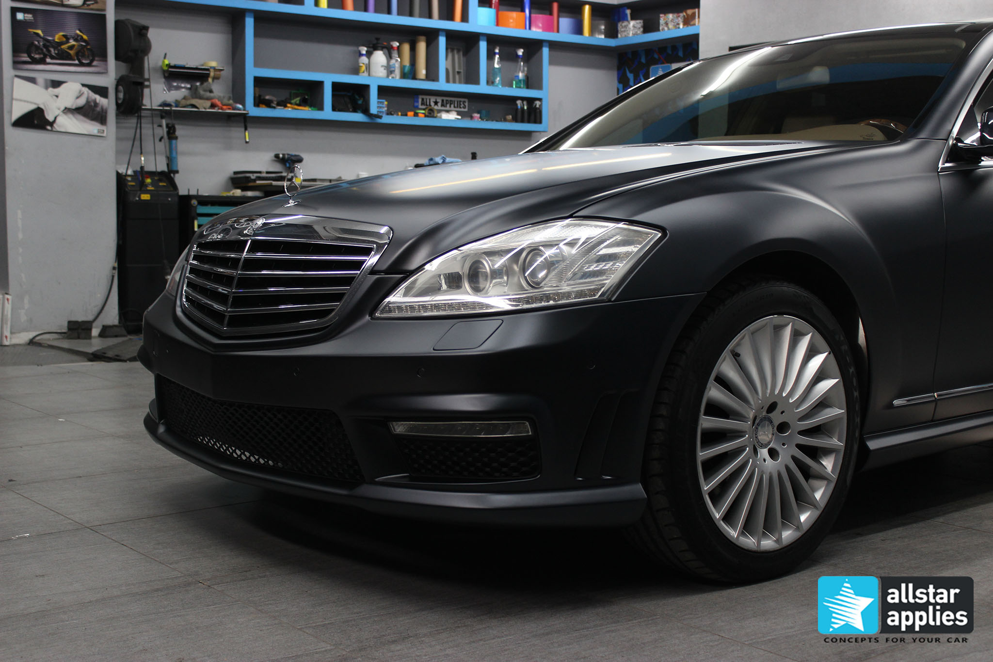 Mercedes S65 - Magnetic Black (3)