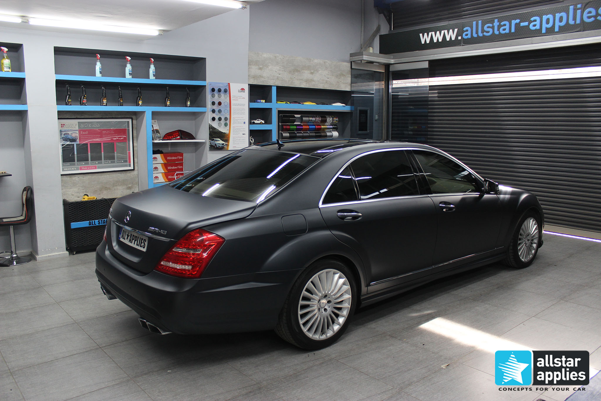 Mercedes S65 - Magnetic Black (5)