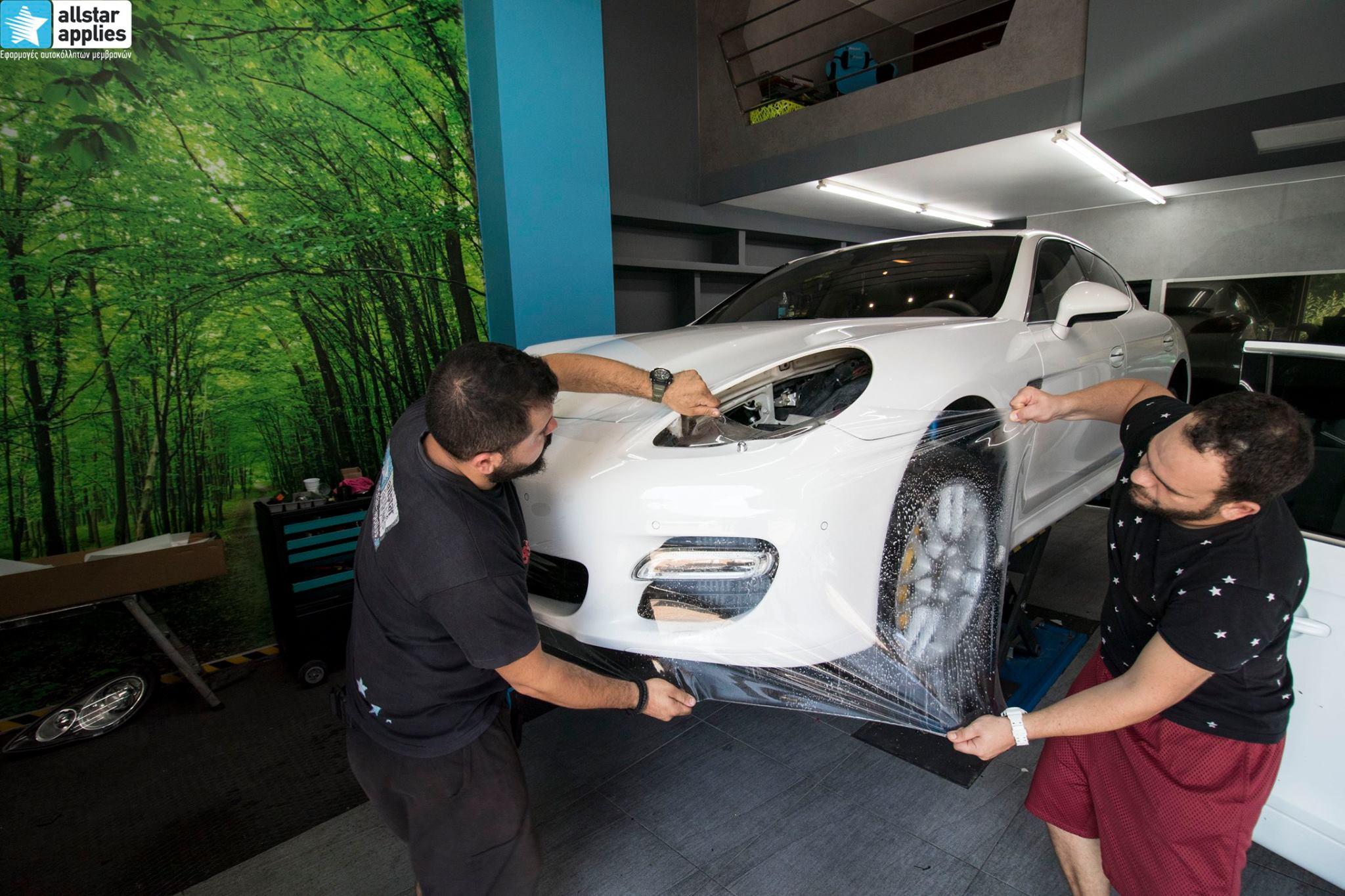 Porsche Panamera - Paint Protection Film (10)