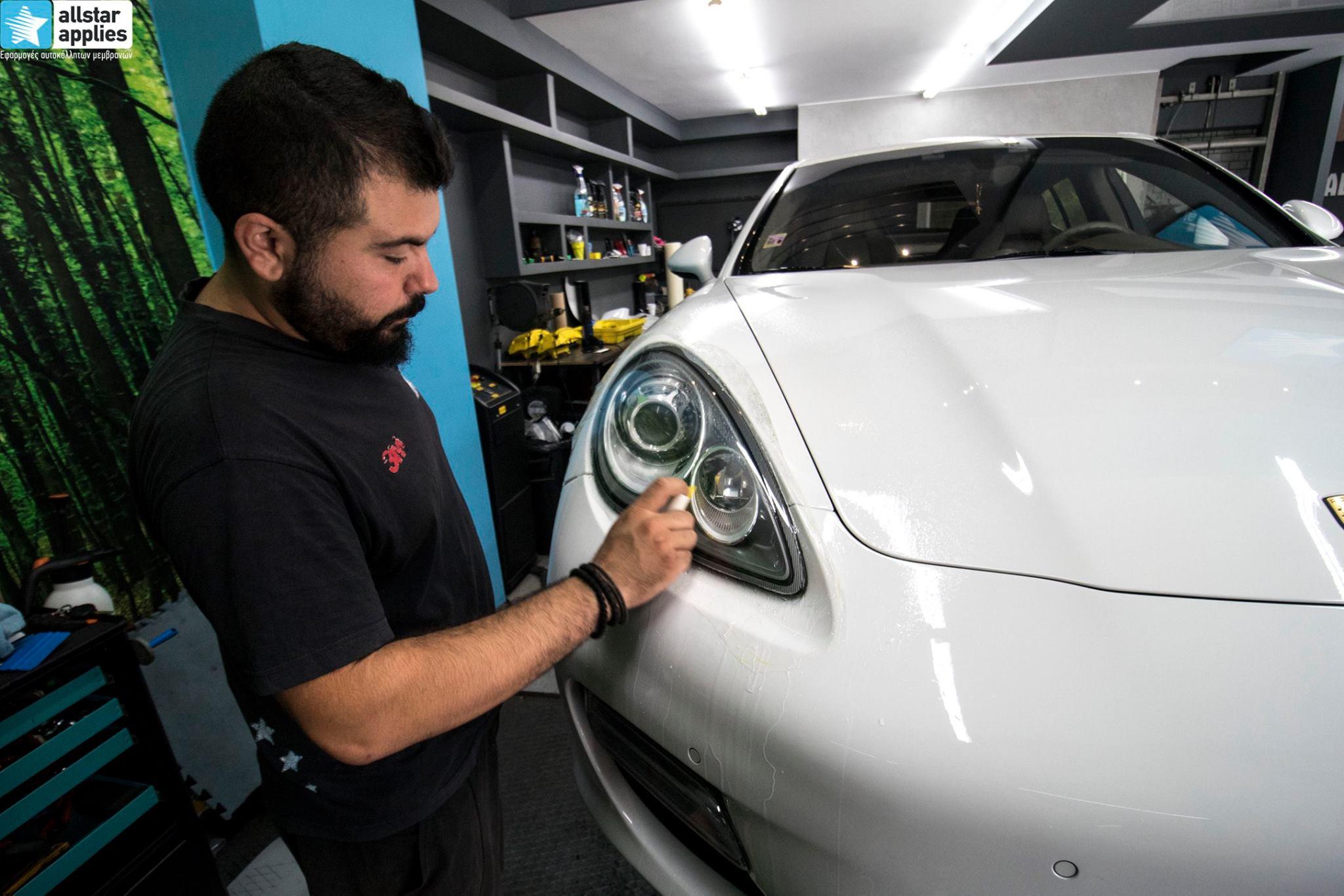 Porsche Panamera - Paint Protection Film (11)