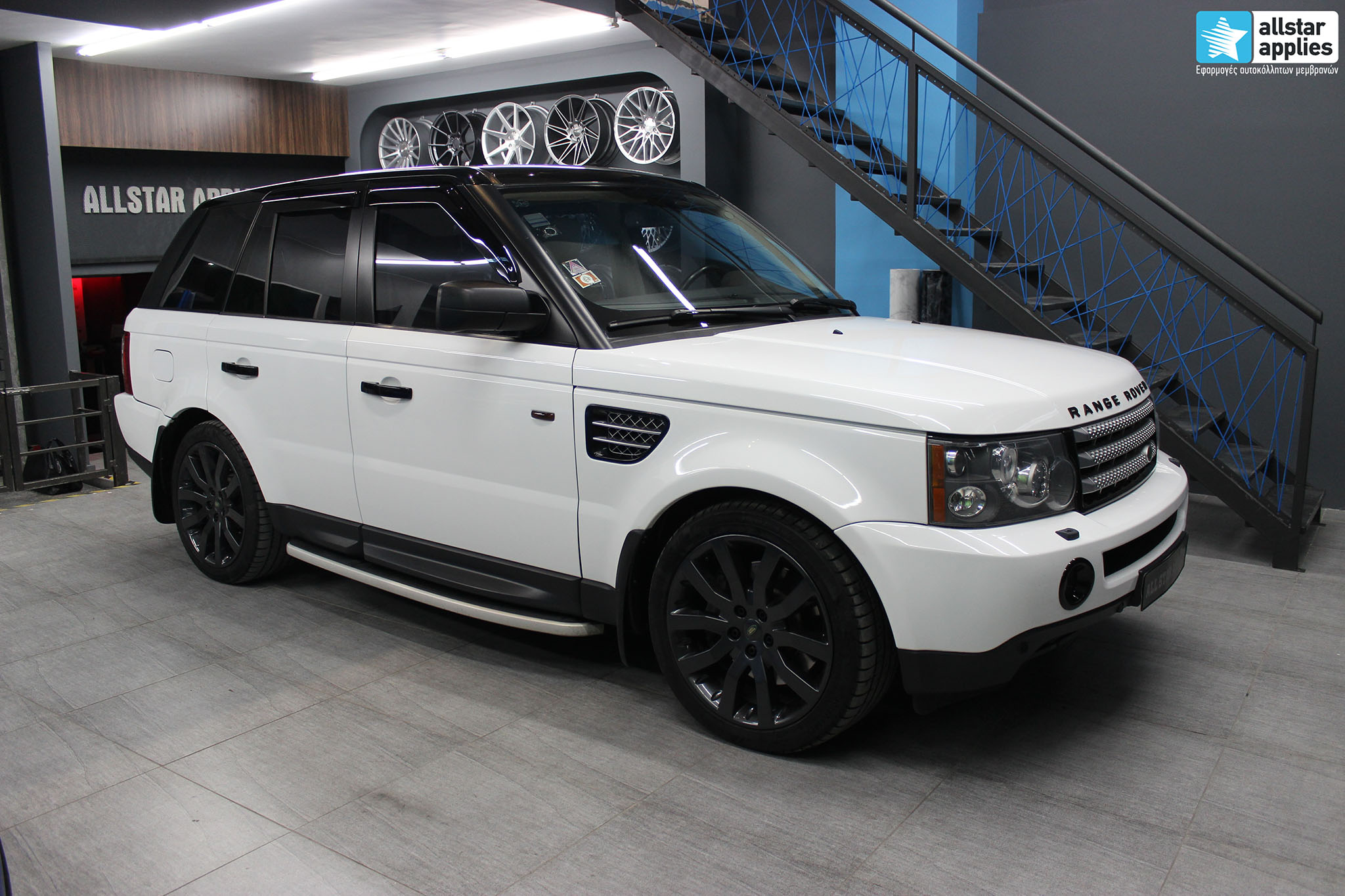 Range Rover – White Metallic (1)