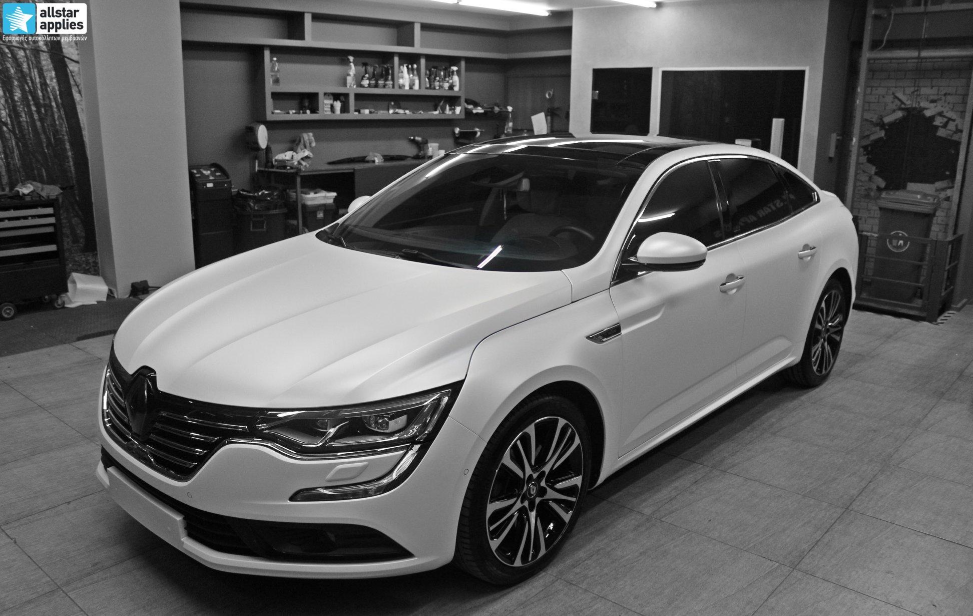 Renault Talisman - Satin Pearl White (1)