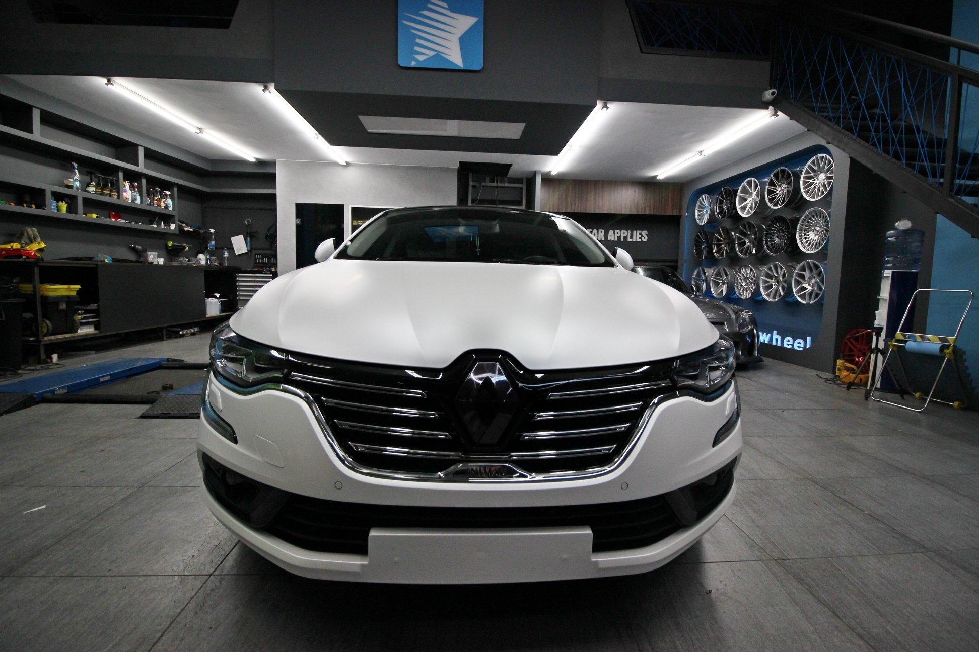 Renault Talisman - Satin Pearl White (13)