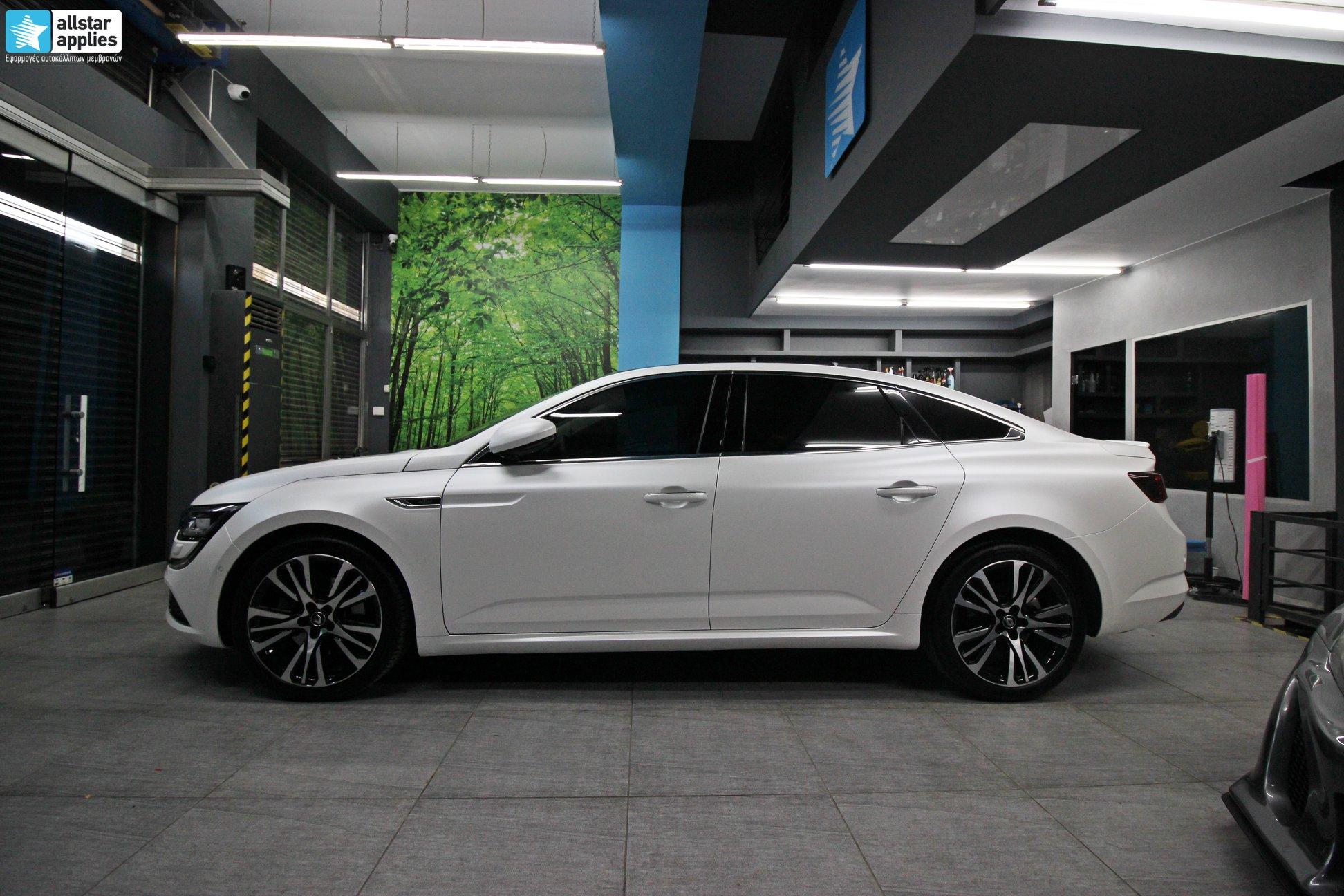 Renault Talisman - Satin Pearl White (2)