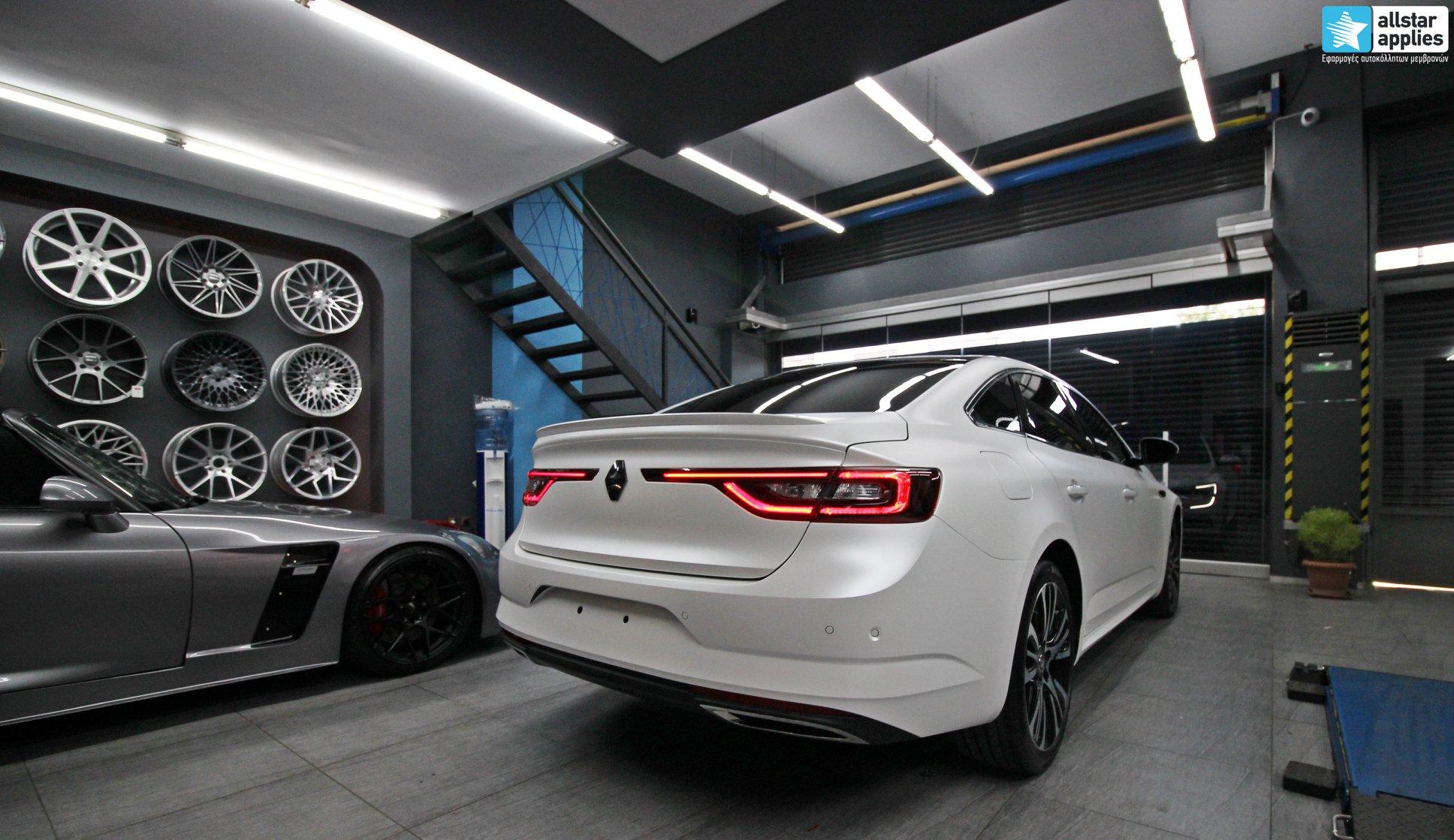 Renault Talisman - Satin Pearl White (5)