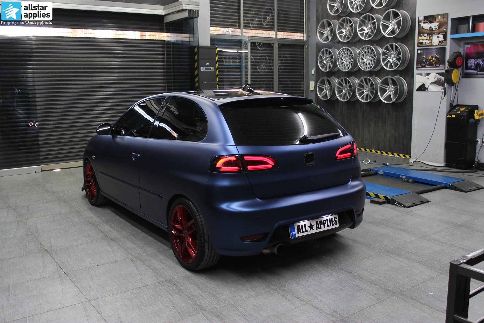 Seat Ibiza - Matte Trenton Blue (1)