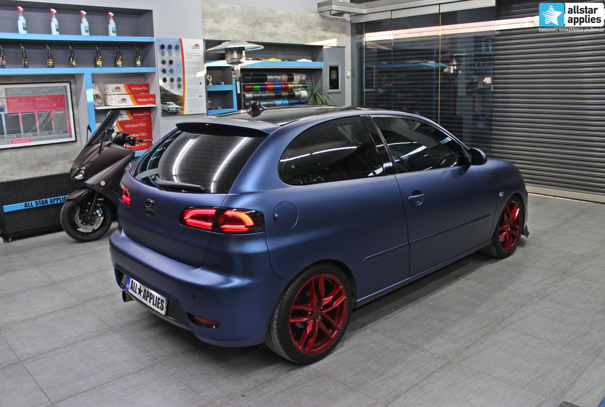 Seat Ibiza - Matte Trenton Blue (3)