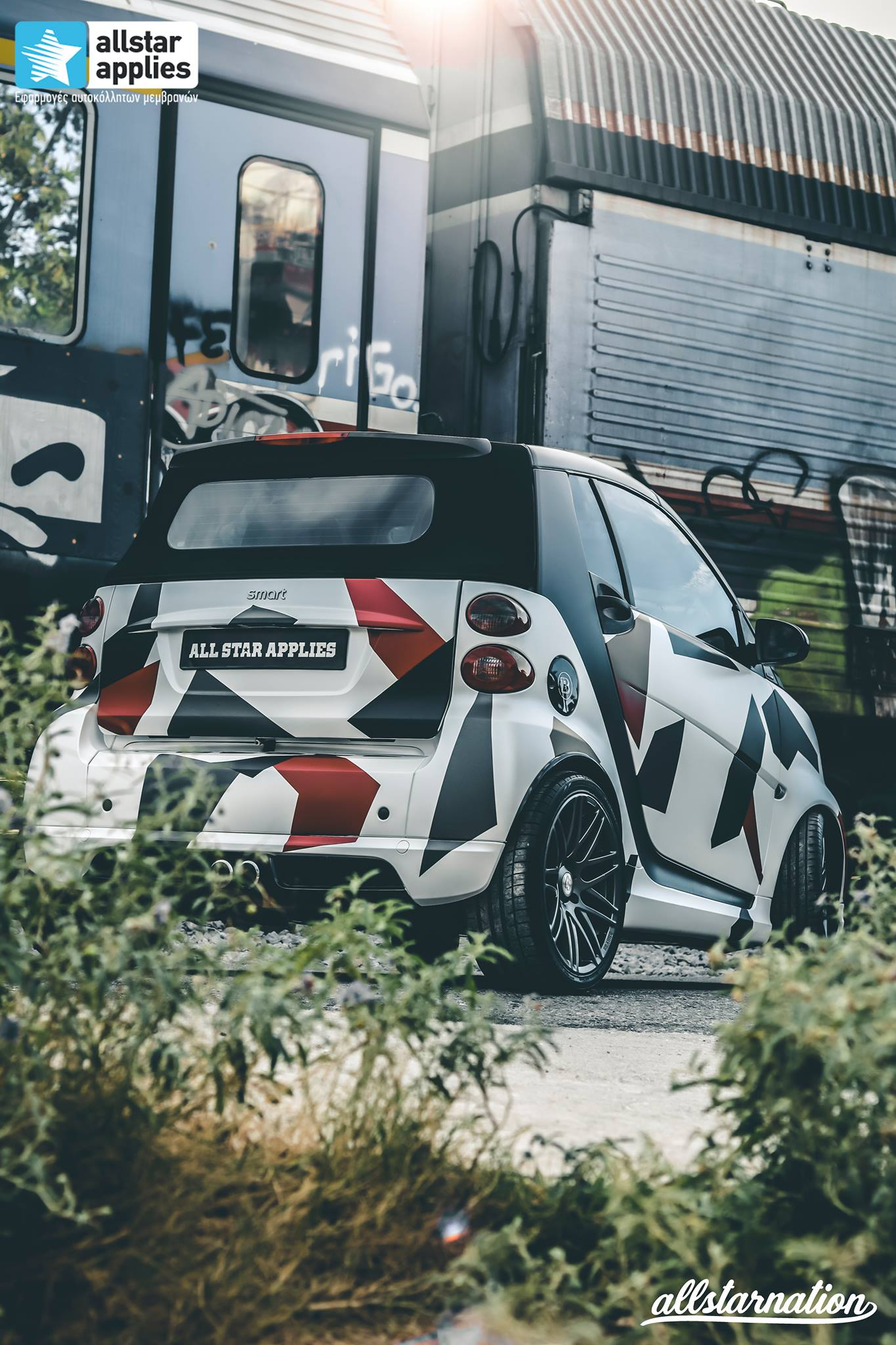 Smart Brabus 451 Cabrio - Polygon Camo (6)