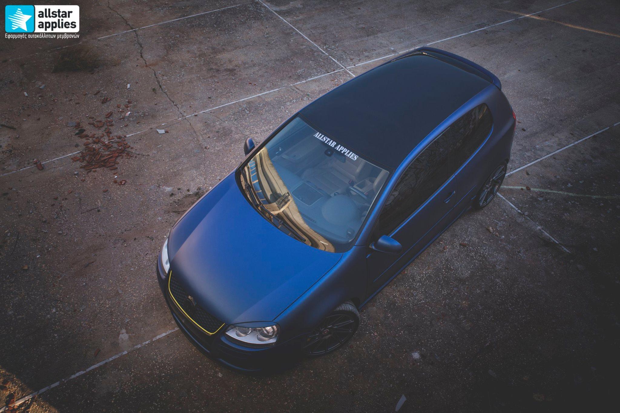 VW Golf 5 - Matt Trenton Blue (11)