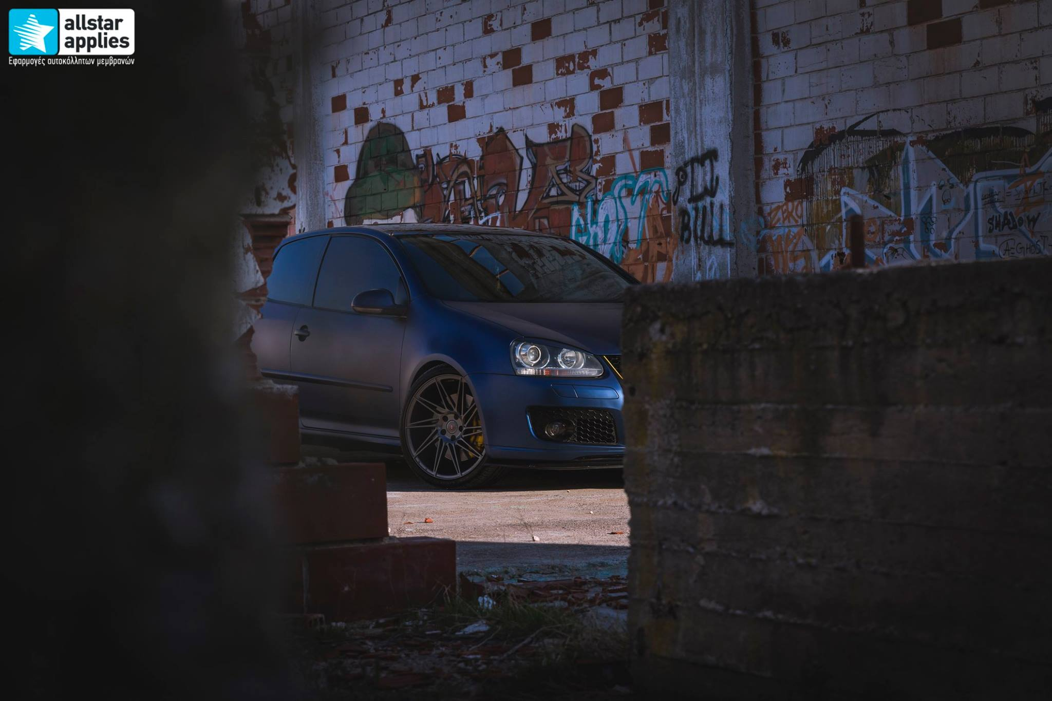 VW Golf 5 - Matt Trenton Blue (13)