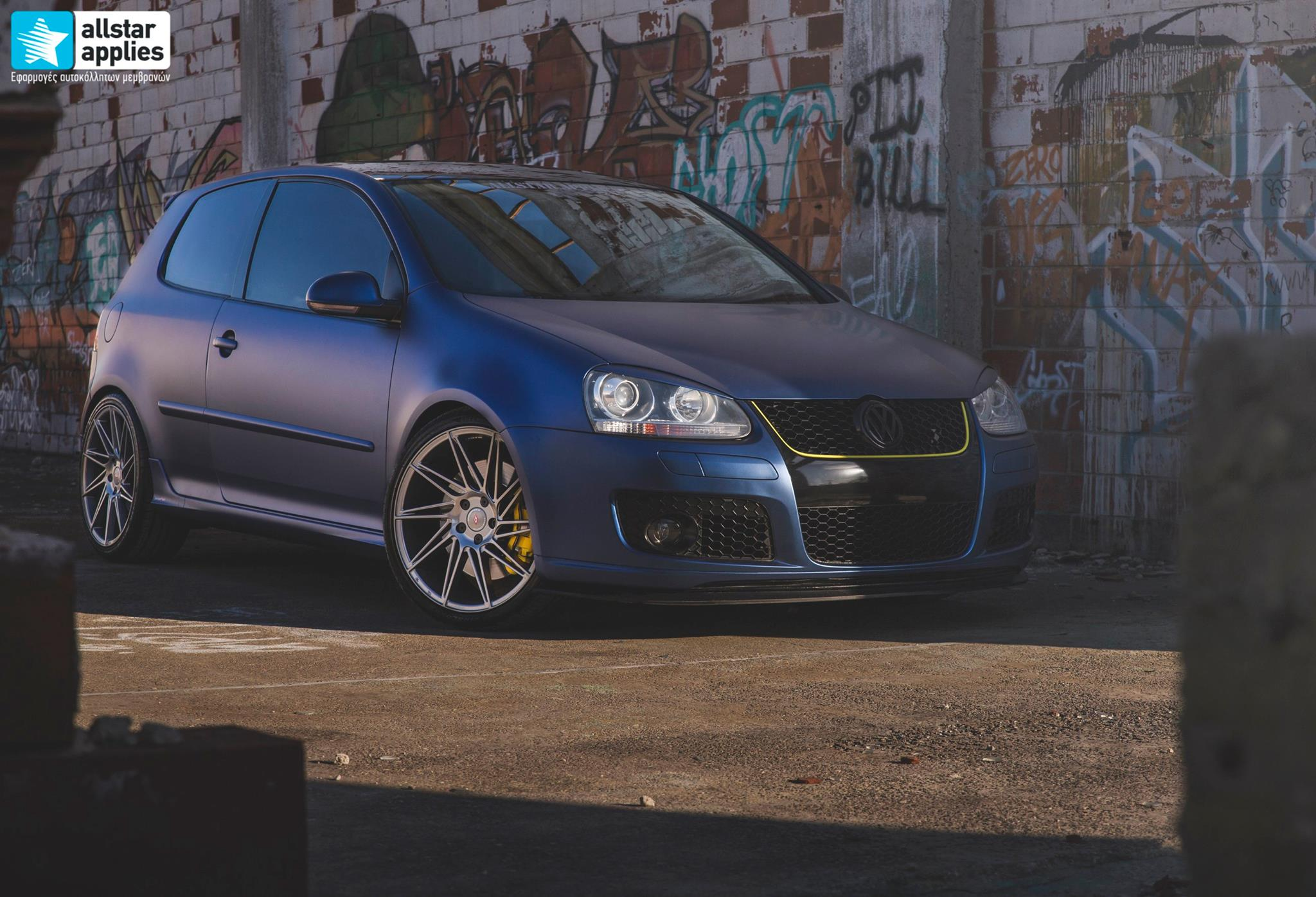 VW Golf 5 - Matt Trenton Blue (14)