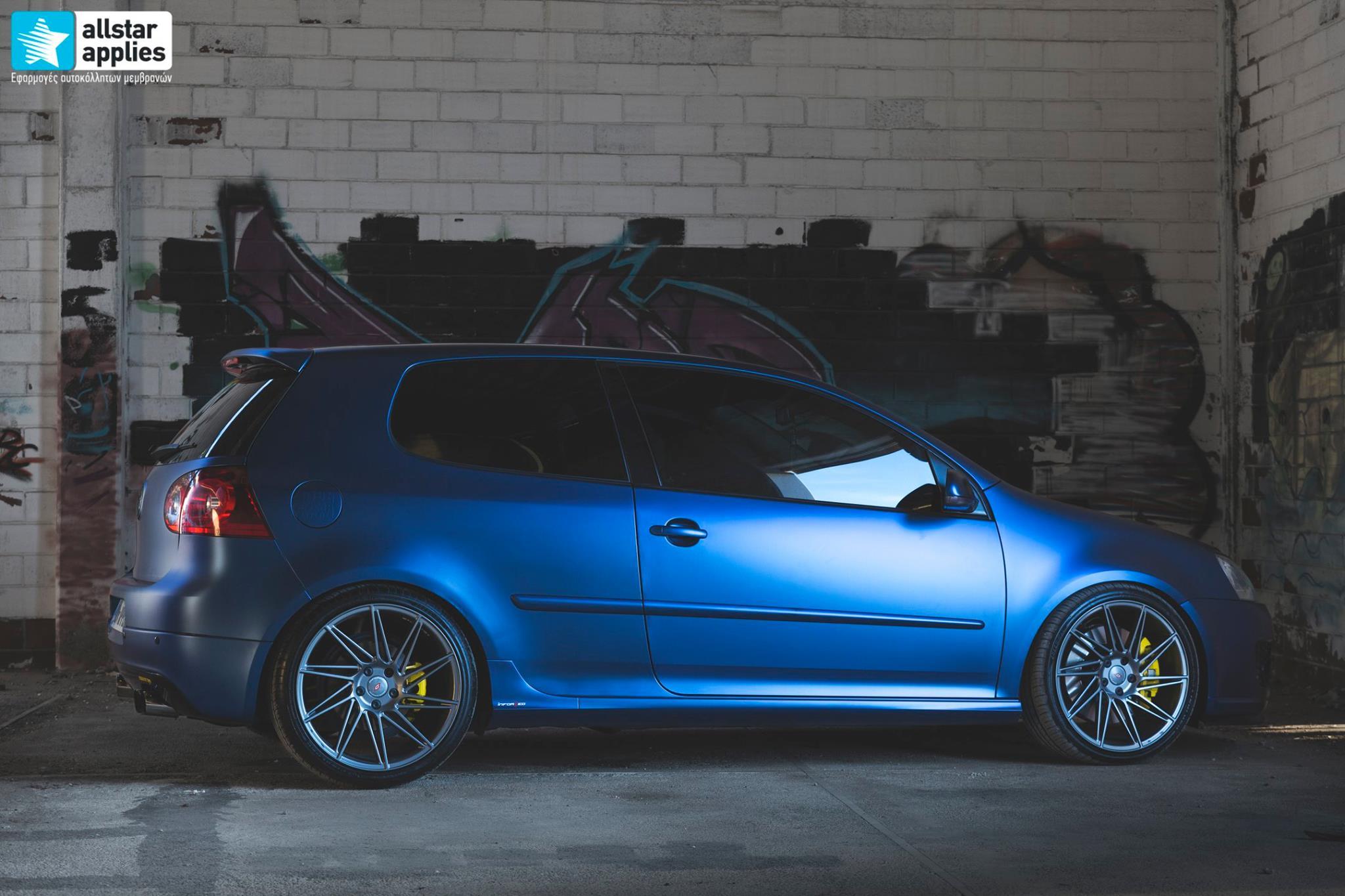 VW Golf 5 - Matt Trenton Blue (16)