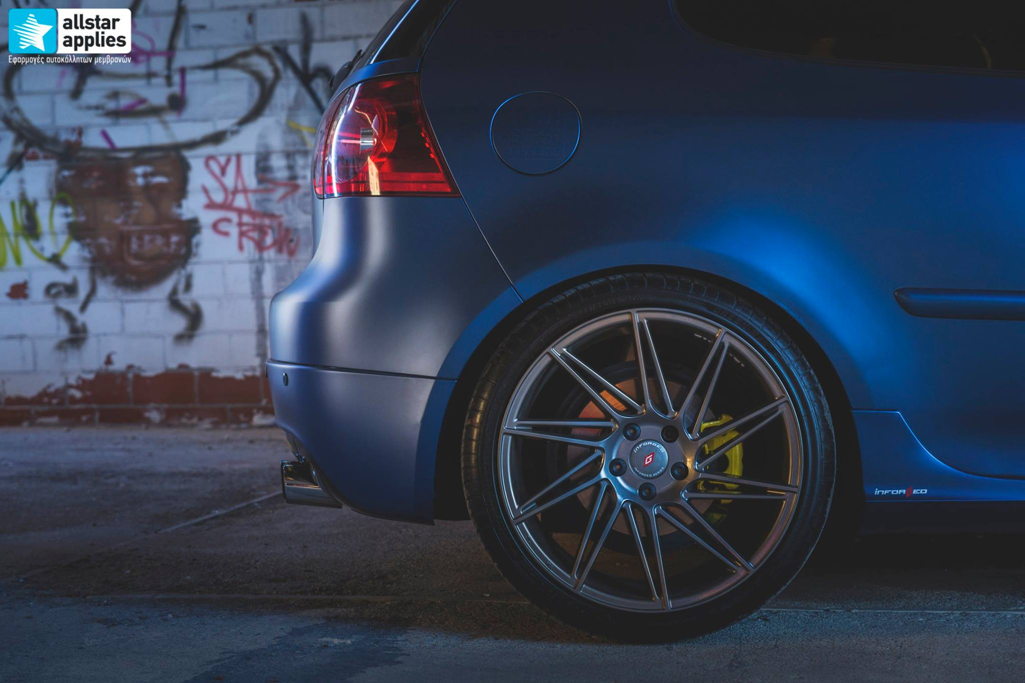 VW Golf 5 - Matt Trenton Blue (17)