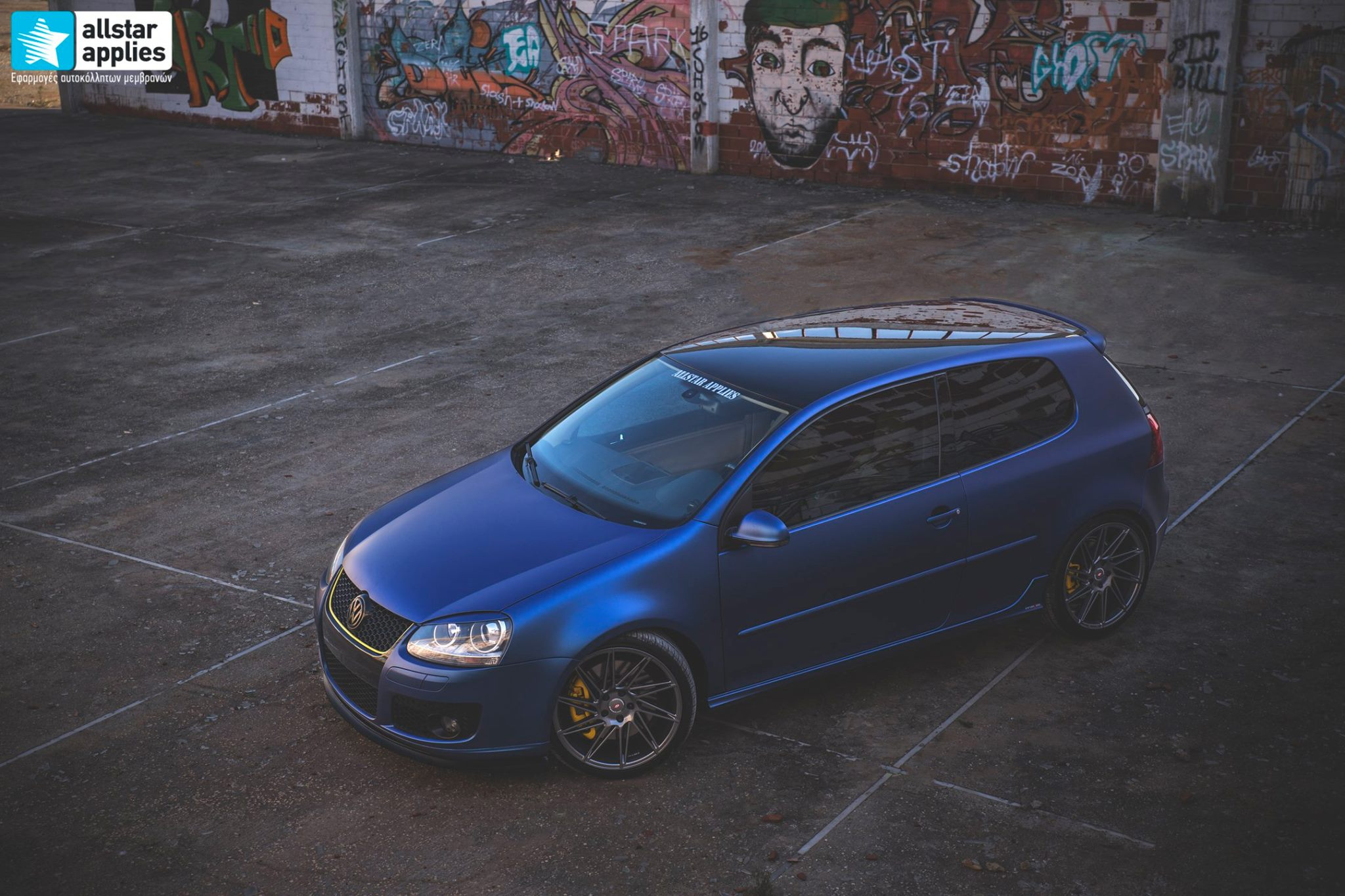VW Golf 5 - Matt Trenton Blue (3)