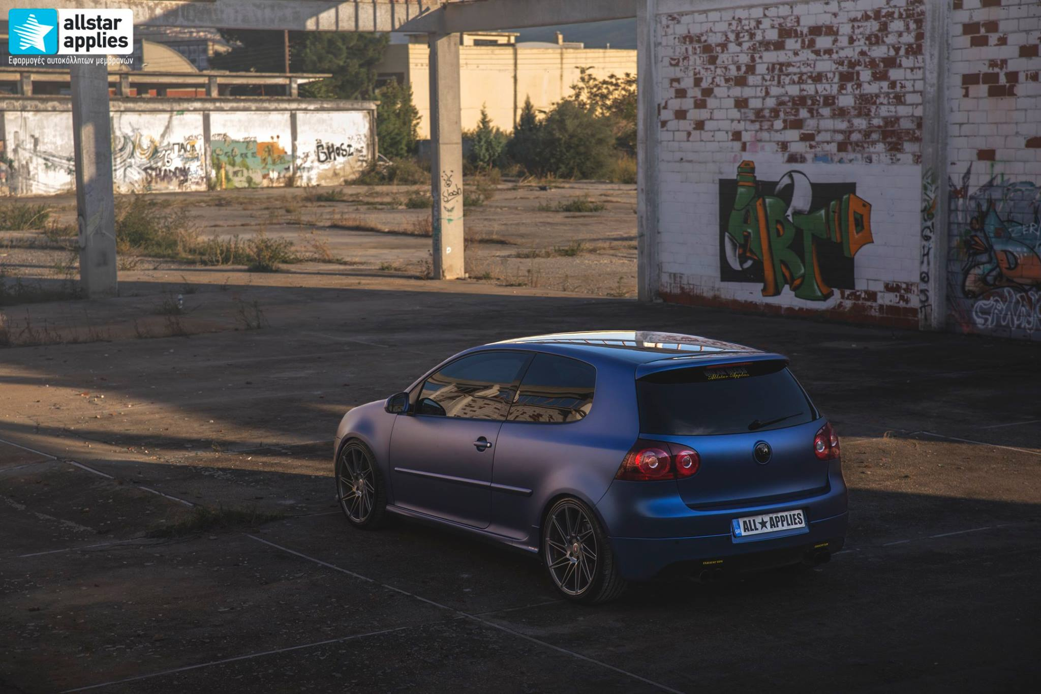 VW Golf 5 - Matt Trenton Blue (4)