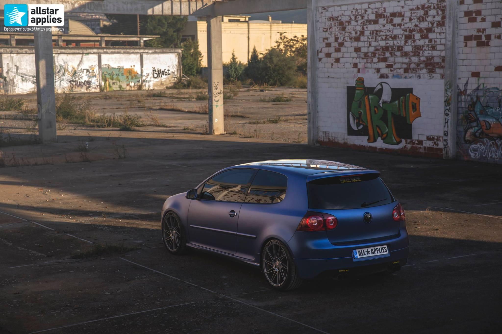 VW Golf 5 - Matt Trenton Blue (4)