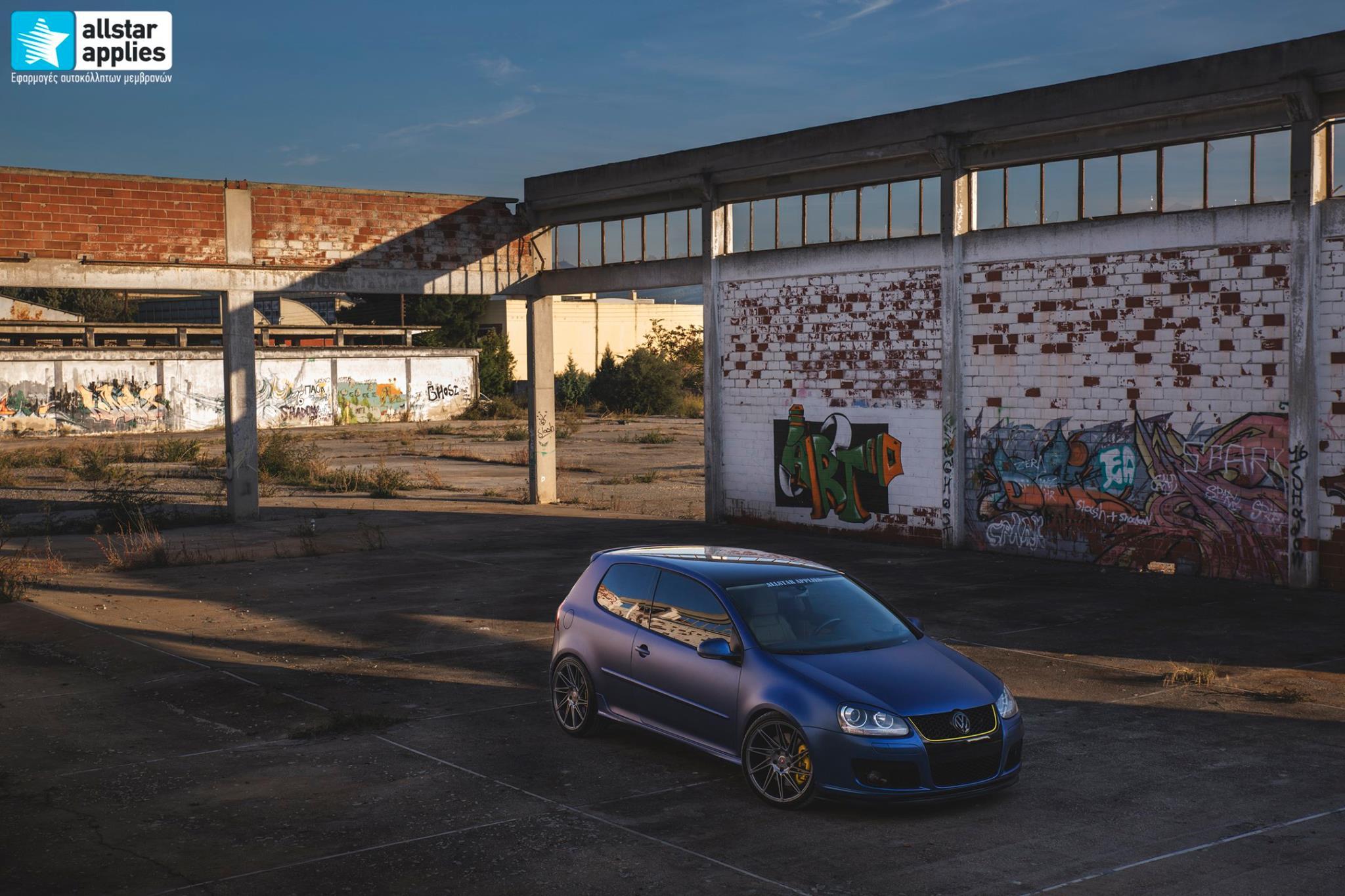 VW Golf 5 - Matt Trenton Blue (5)
