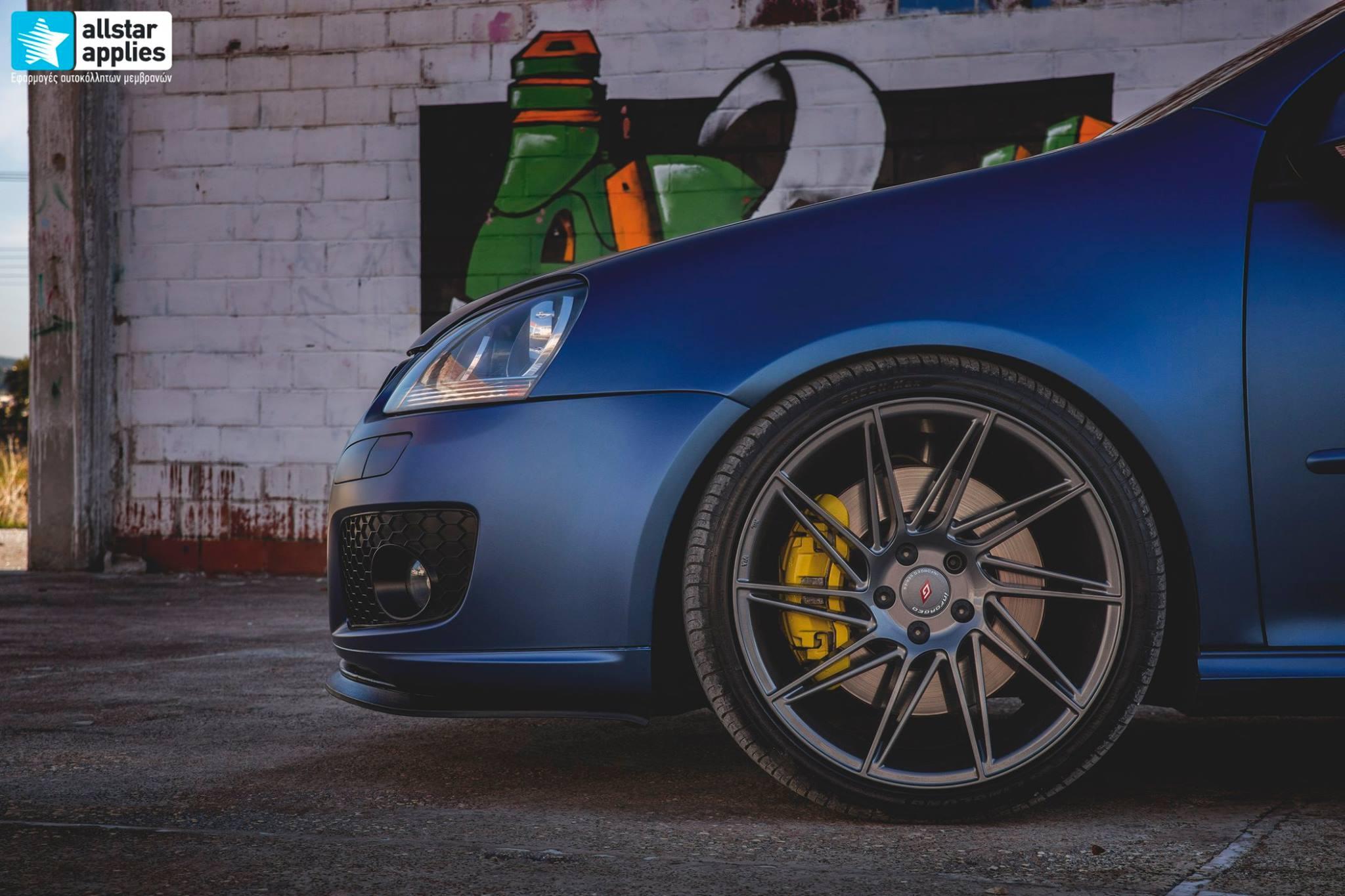 VW Golf 5 - Matt Trenton Blue (7)