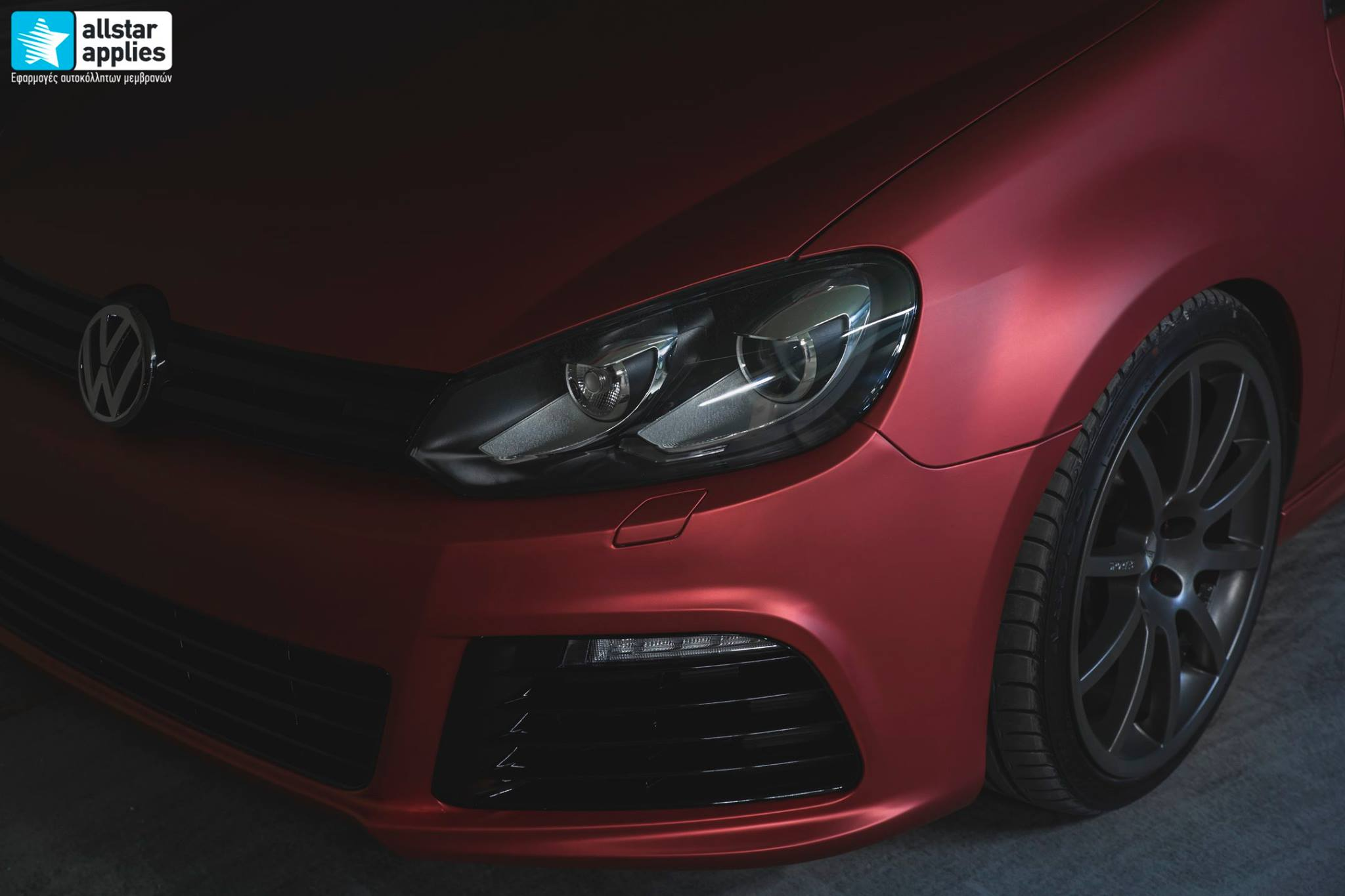 VW Golf 6 - Anodized Red (10)