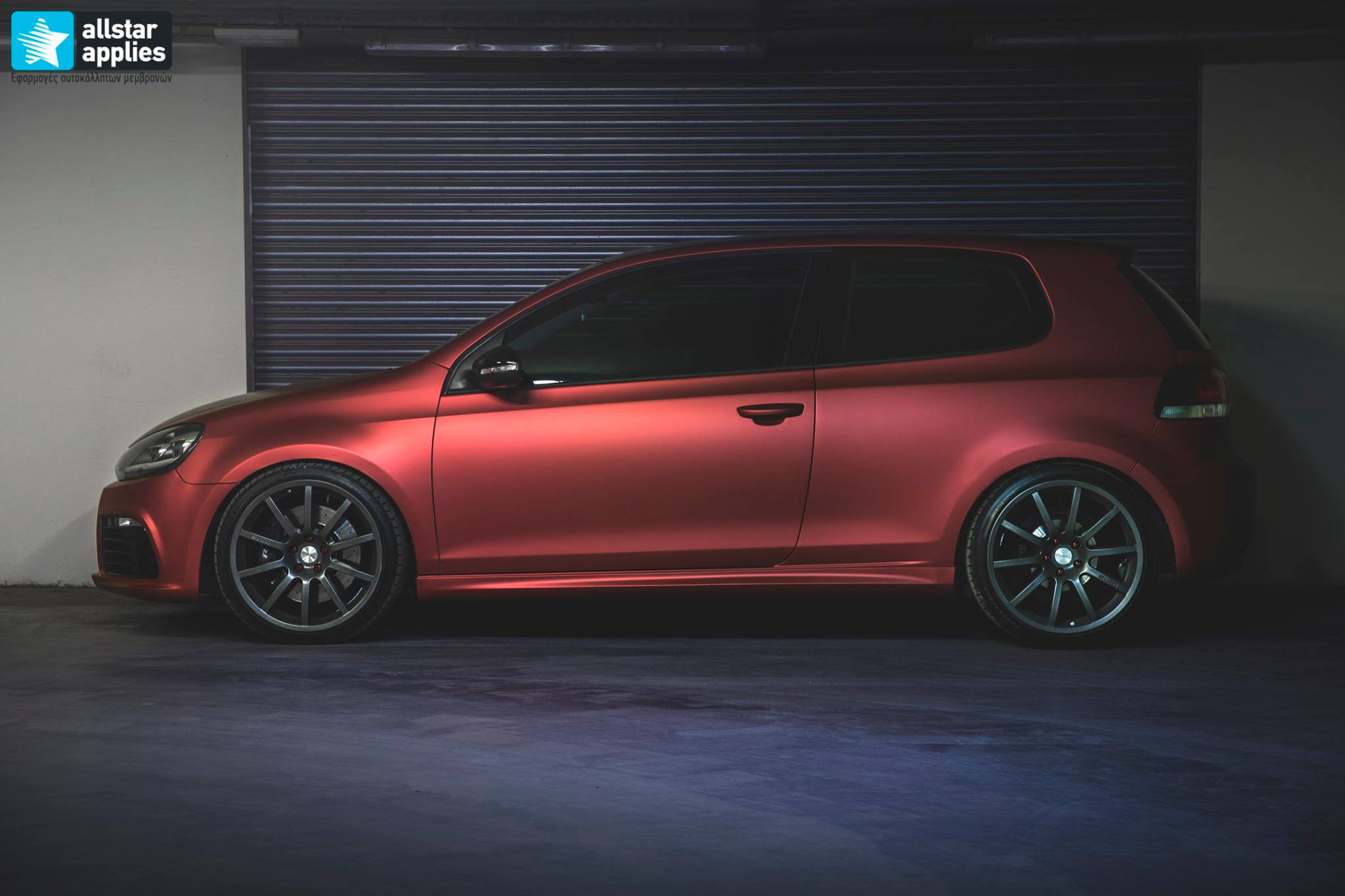 VW Golf 6 - Anodized Red (6)