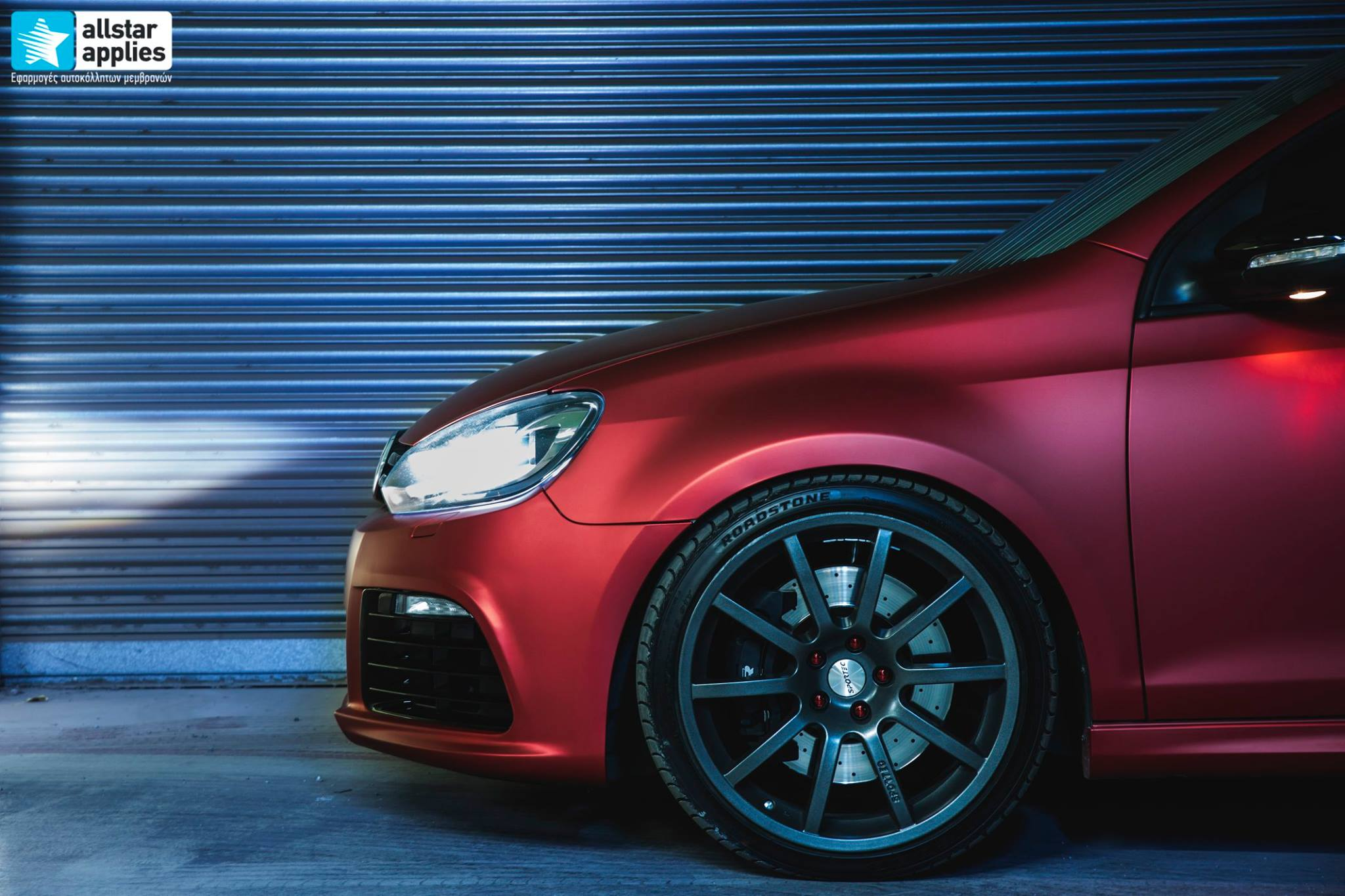 VW Golf 6 - Anodized Red (7)