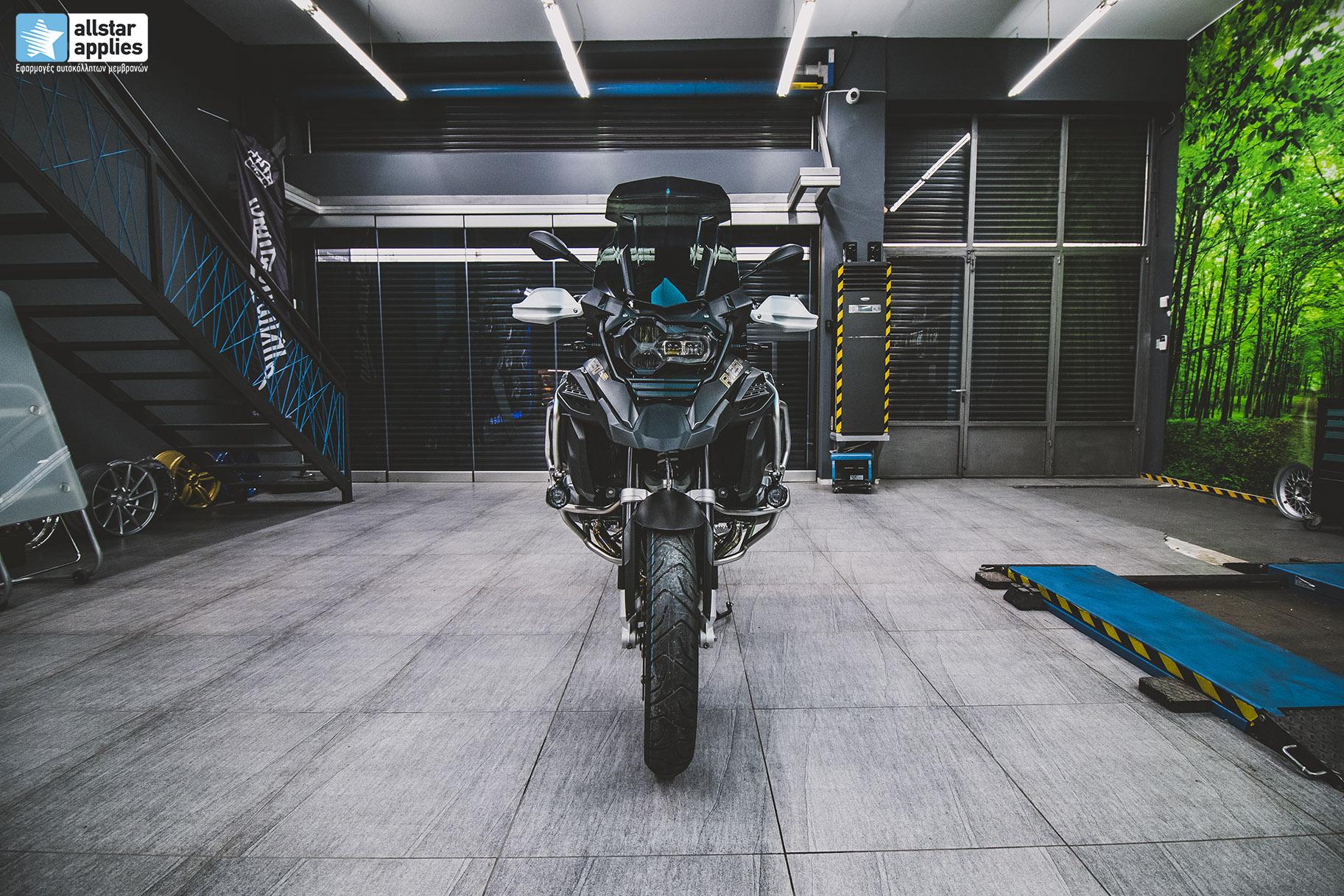 BMW R 1250 GS moto wrapping Greece Allstar Applies Thessaloniki