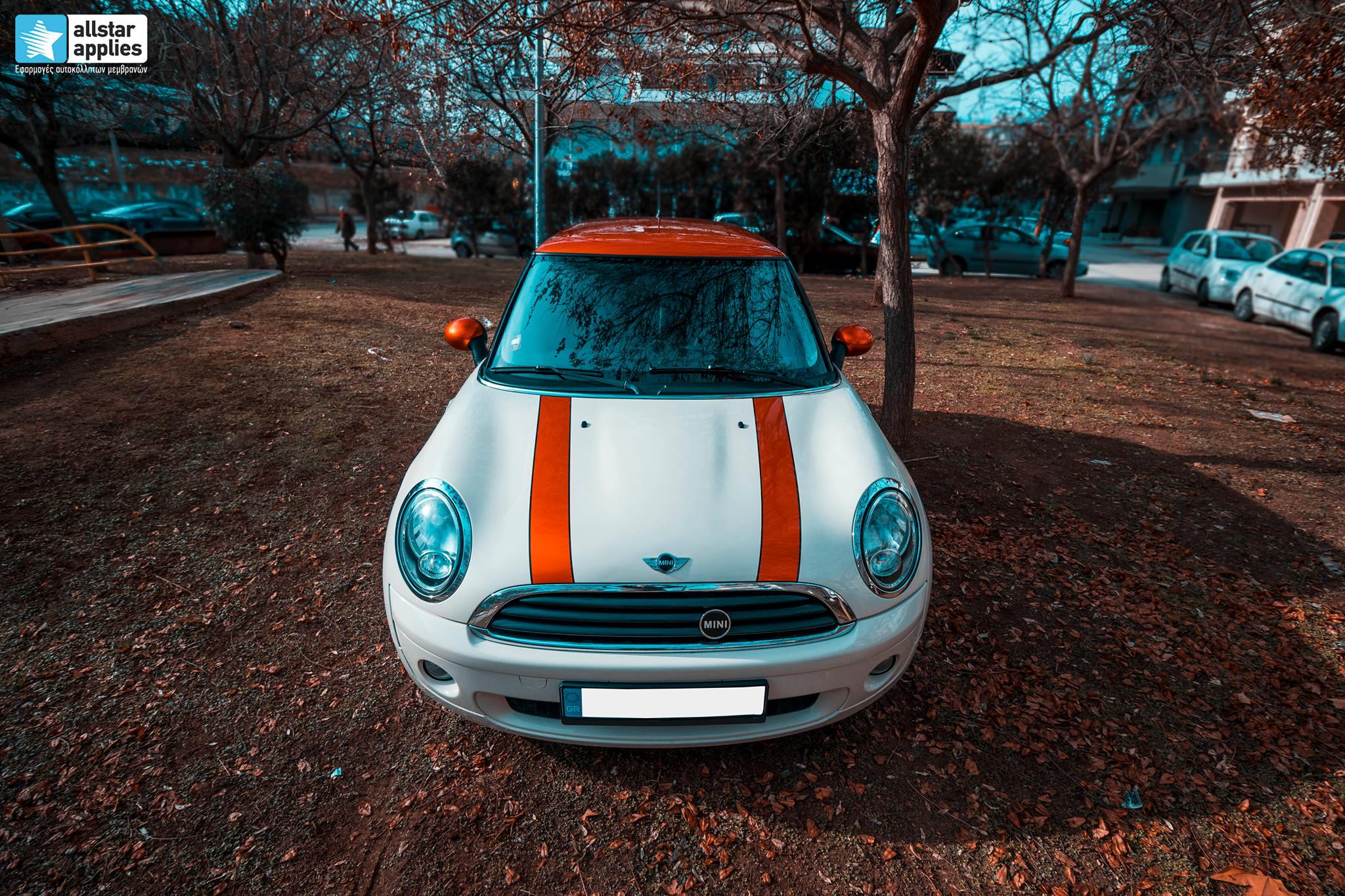 Μεμβράνες αλλαγής χρώματος Mini Cooper