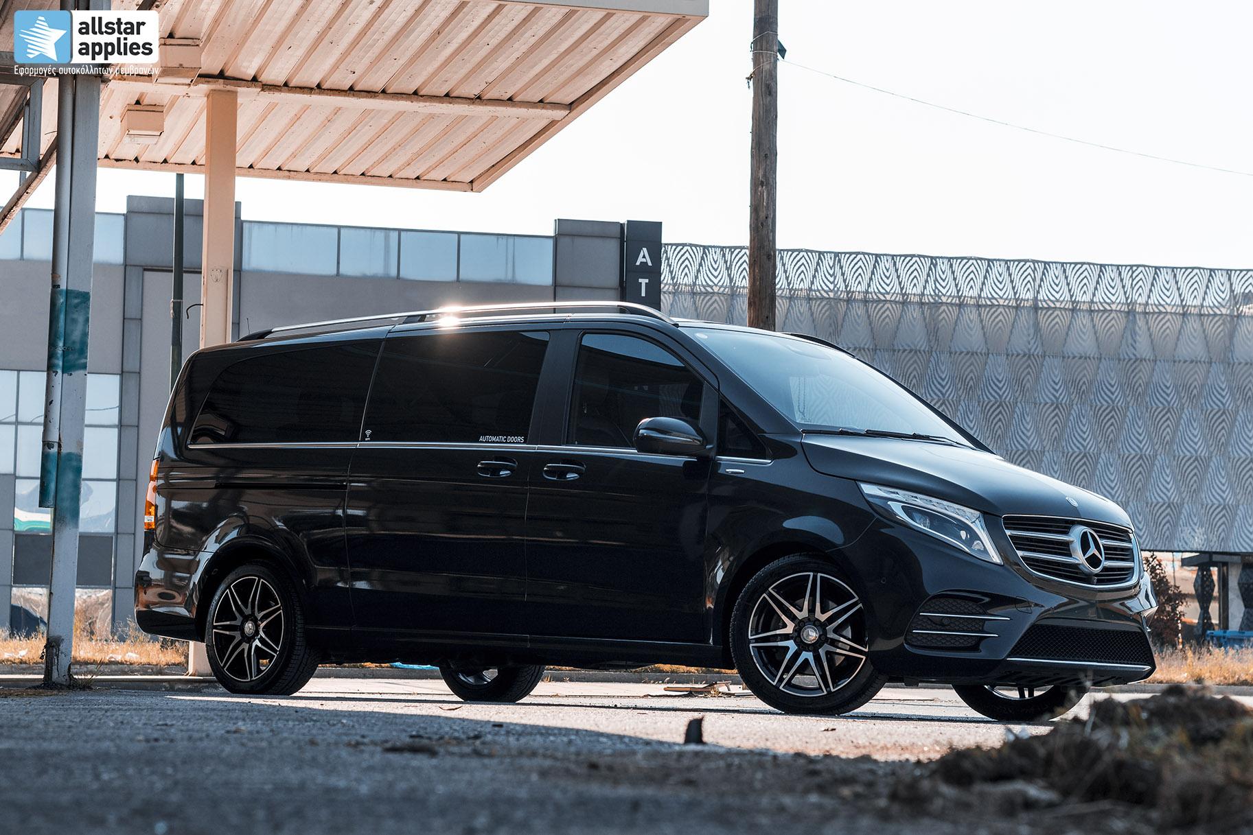 Car wrapping Θεσσαλονίκη Mercedes Benz Allstar Applies
