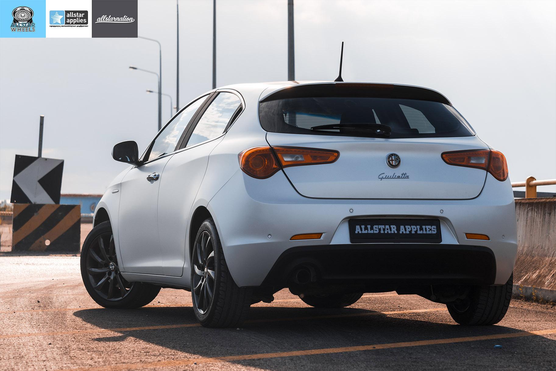 Μεμβράνη Αλλαγής Χρώματος Alfa Romeo Giulietta Matt Diamond White | Allstar Applies στη Θεσσαλονίκη
