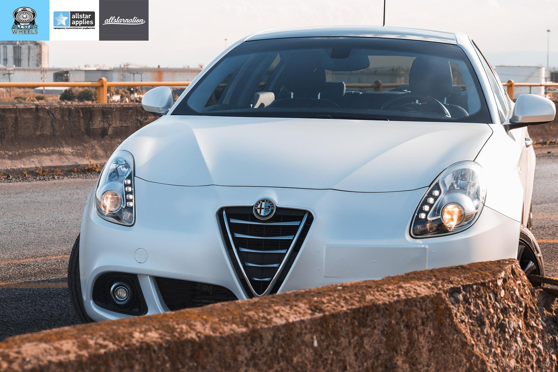 Μεμβράνες Αλλαγής Χρώματος Alfa Romeo Giulietta Matt Diamond White | Allstar Applies στη Θεσσαλονίκη