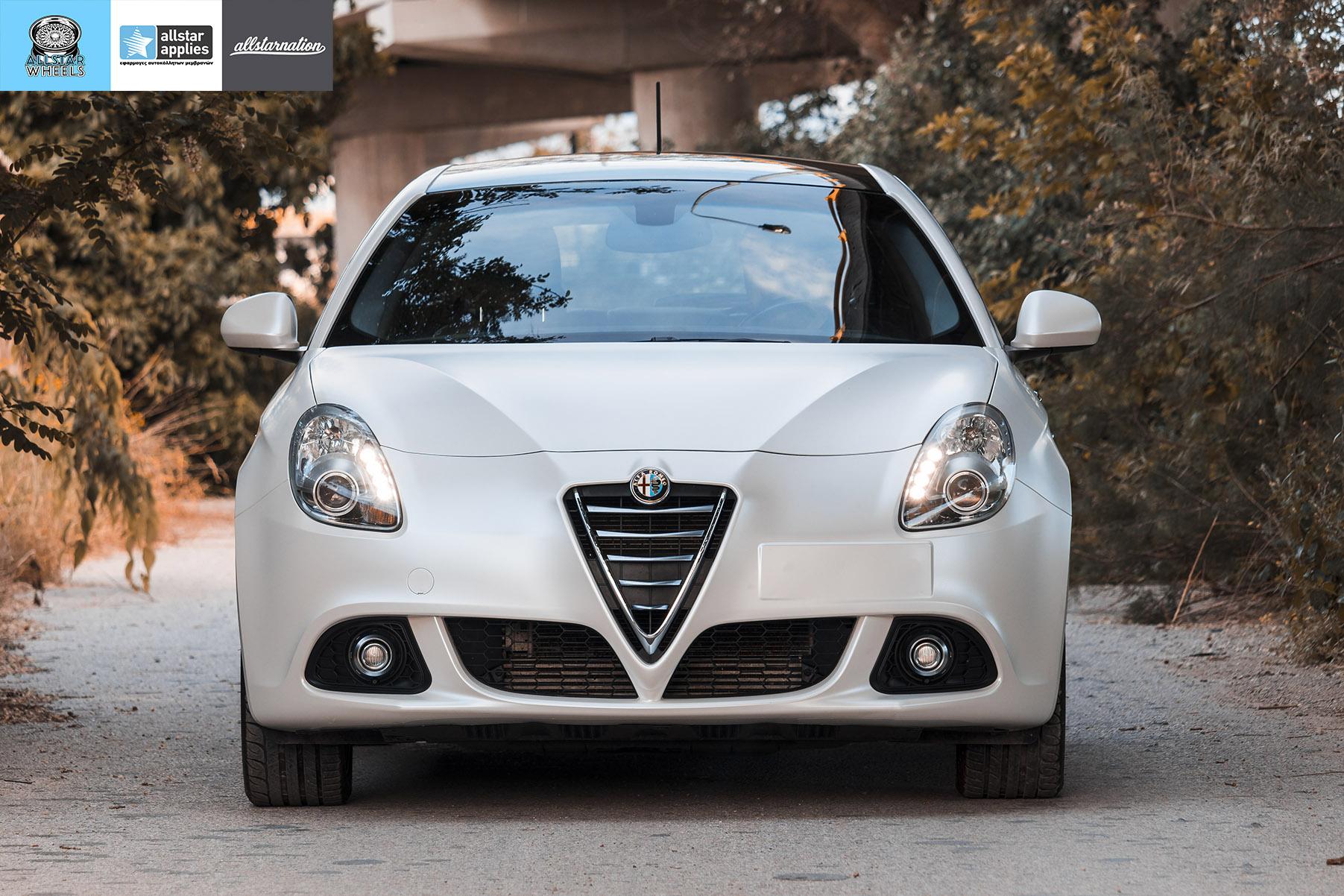 Μεμβράνες Αυτοκινήτου Άσπρο Ματ Alfa Romeo Giulietta | Allstar Applies Θεσσαλονίκη
