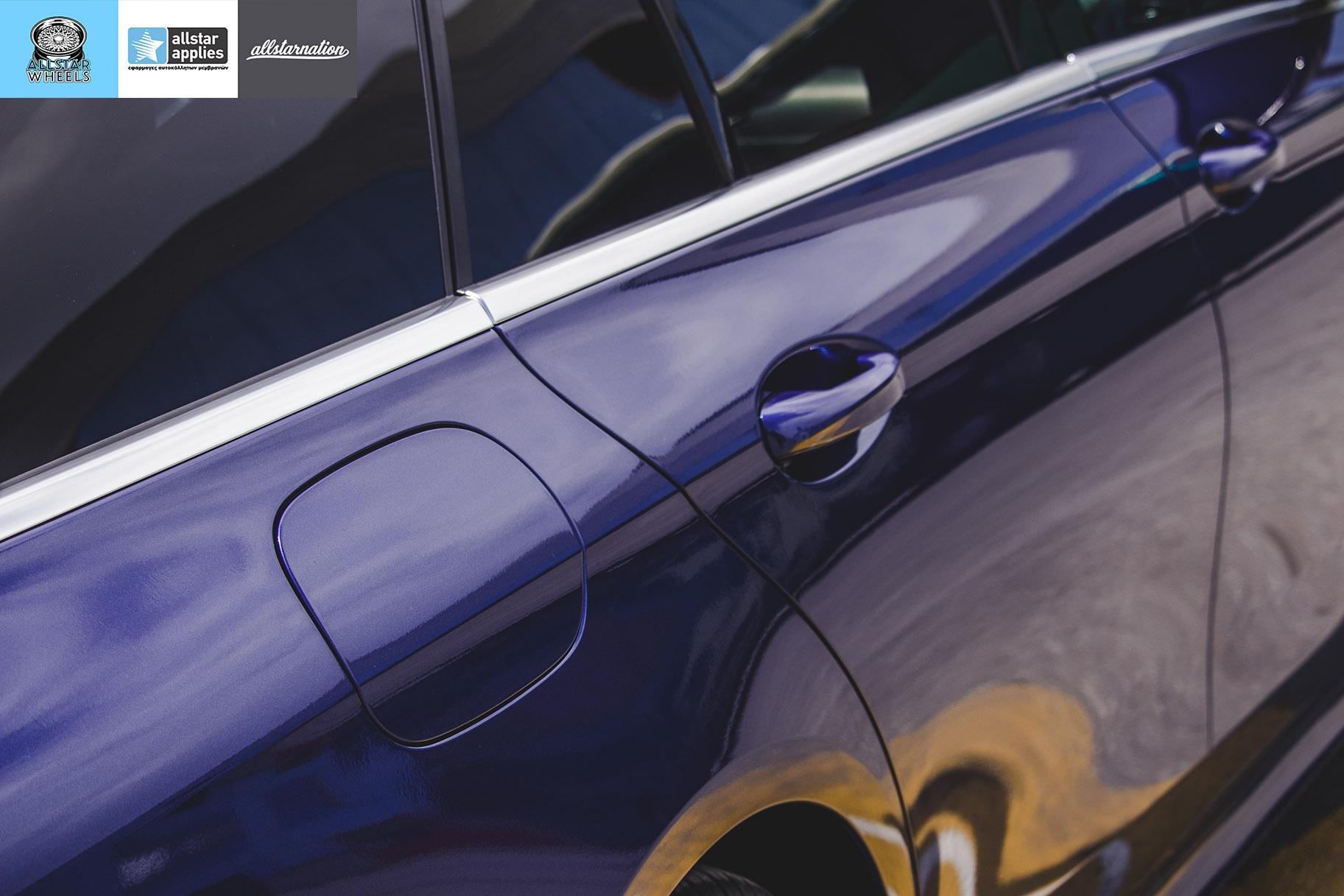 Αυτοκόλλητο αλλαγής χρώματος σε Mecedes Benz E Class AMG | Allstar Applies | Θεσσαλονίκη