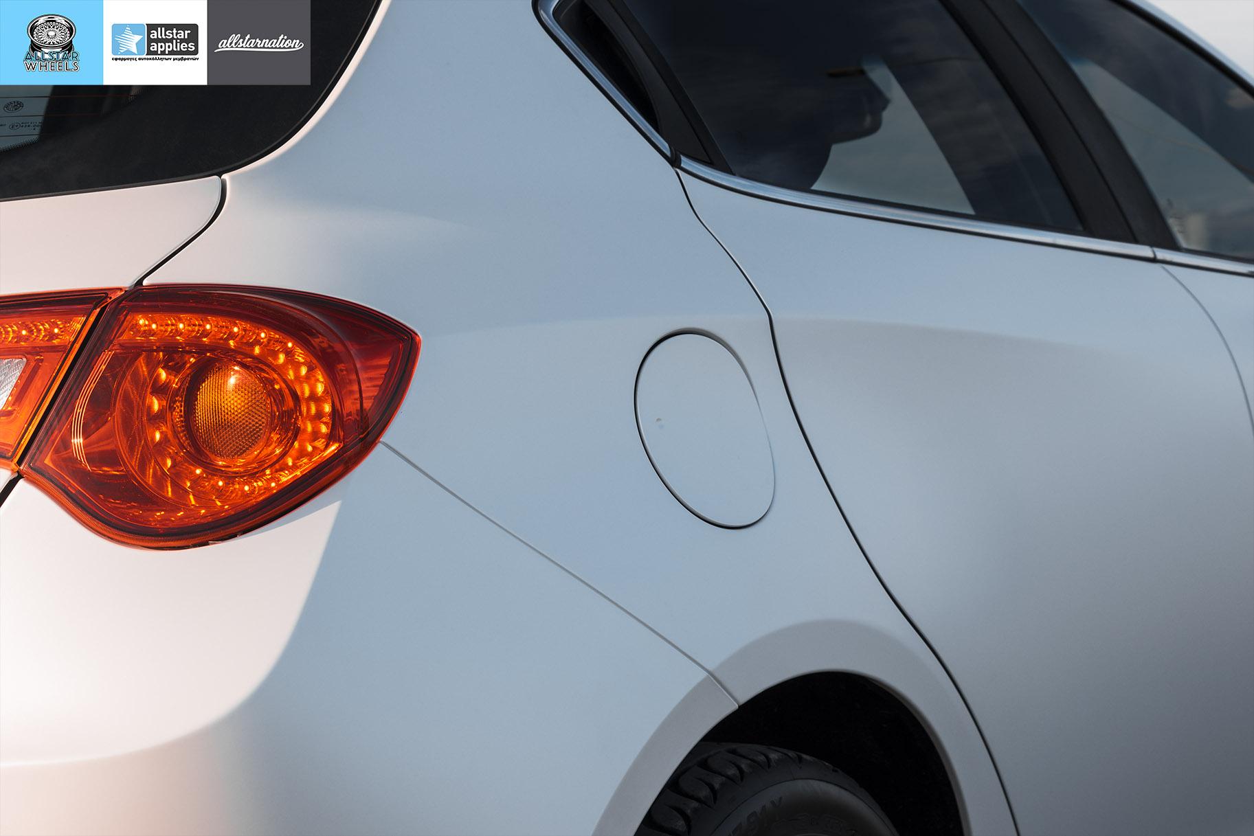Αυτοκόλλητα Αλλαγής Χρώματος Alfa Romeo Giulietta Matt Diamond White | Allstar Applies στη Θεσσαλονίκη