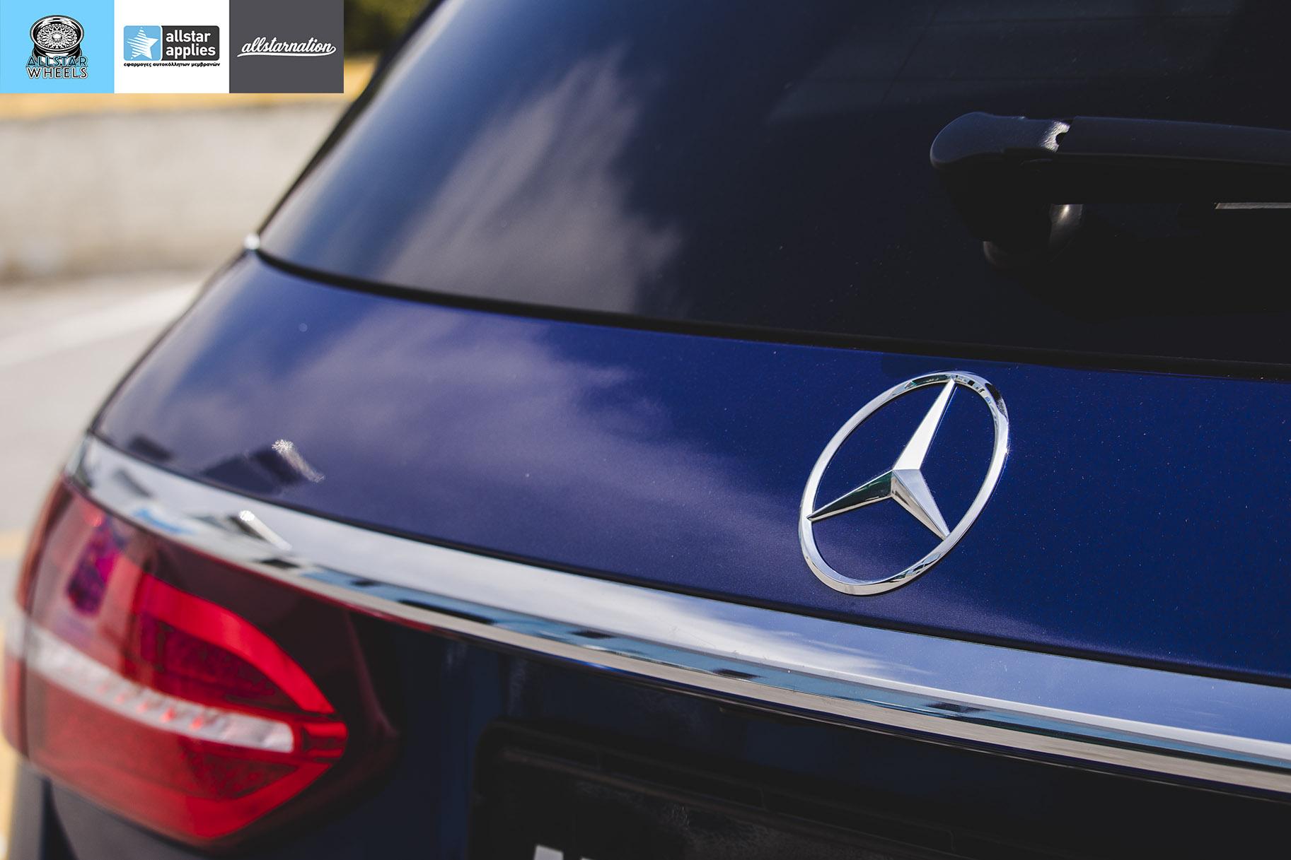 Car Wrapping Mercedes Benz E class AMG | Allstar Applies | Θεσσαλονίκη