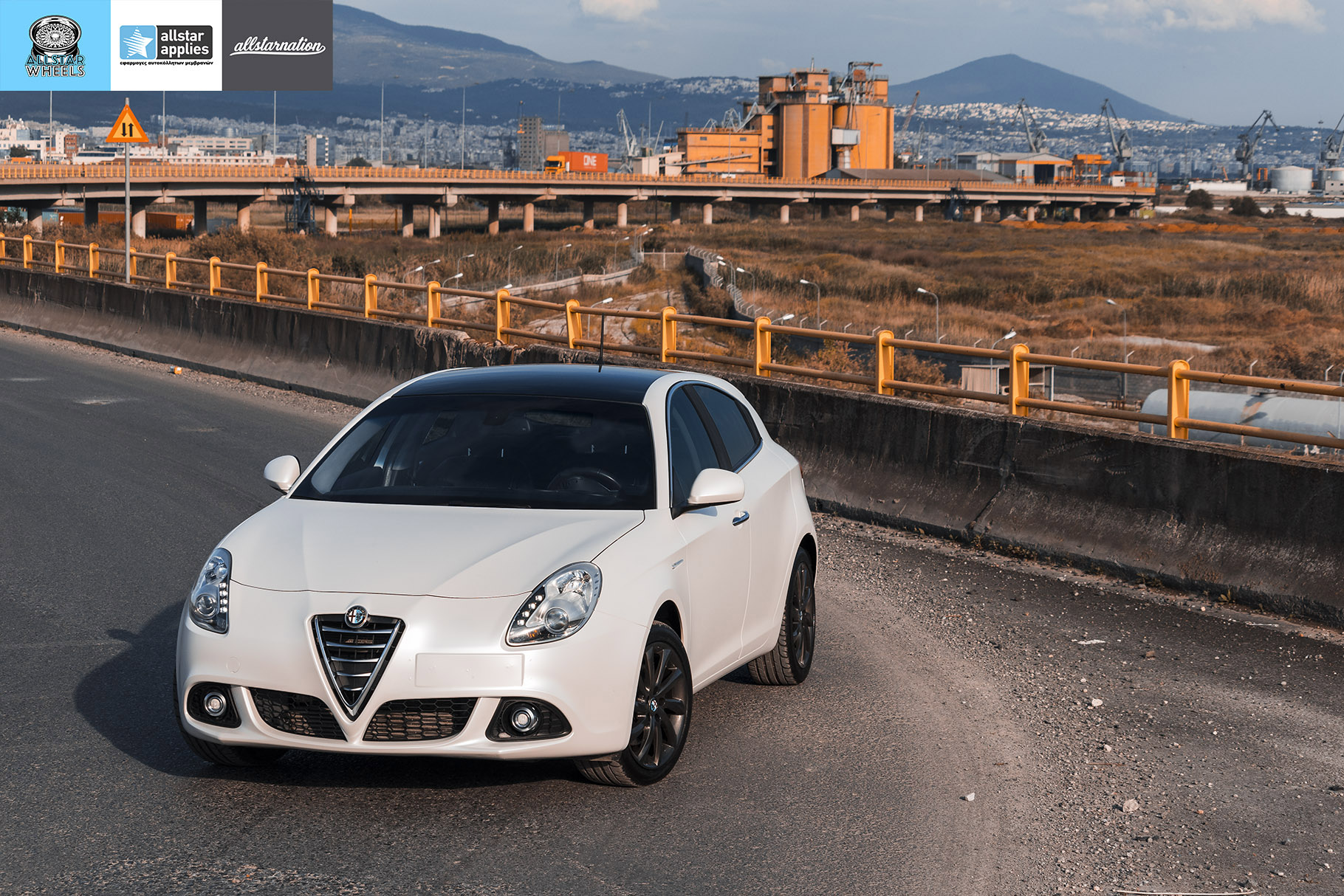 Φιμε ηλιοροφής Αυτοκινήτου Alfa Romeo Giulietta Matt Diamond White | Allstar Applies στη Θεσσαλονίκη