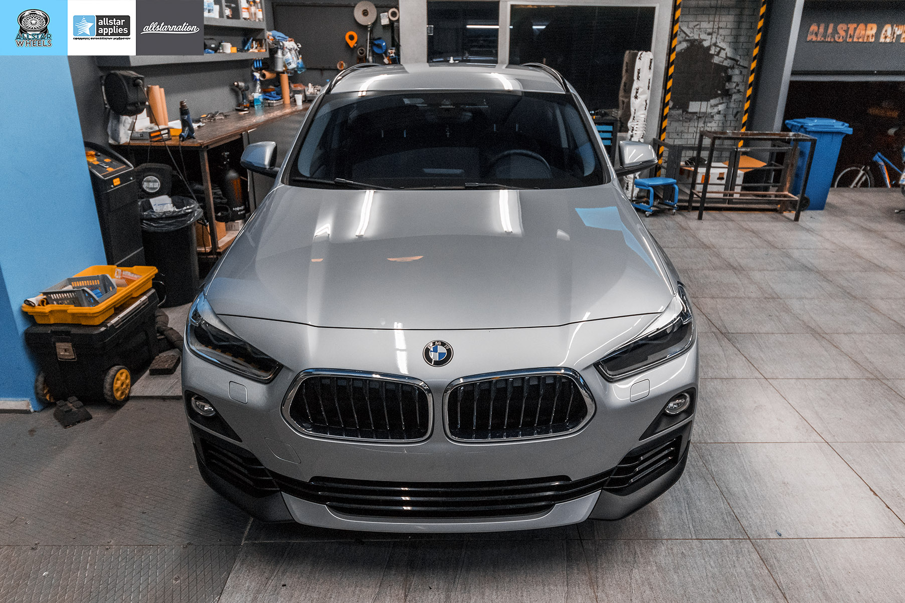 BMW X2 SDRIVE PAINT PROTECTION FILM ALLSTAR APPLIES 1