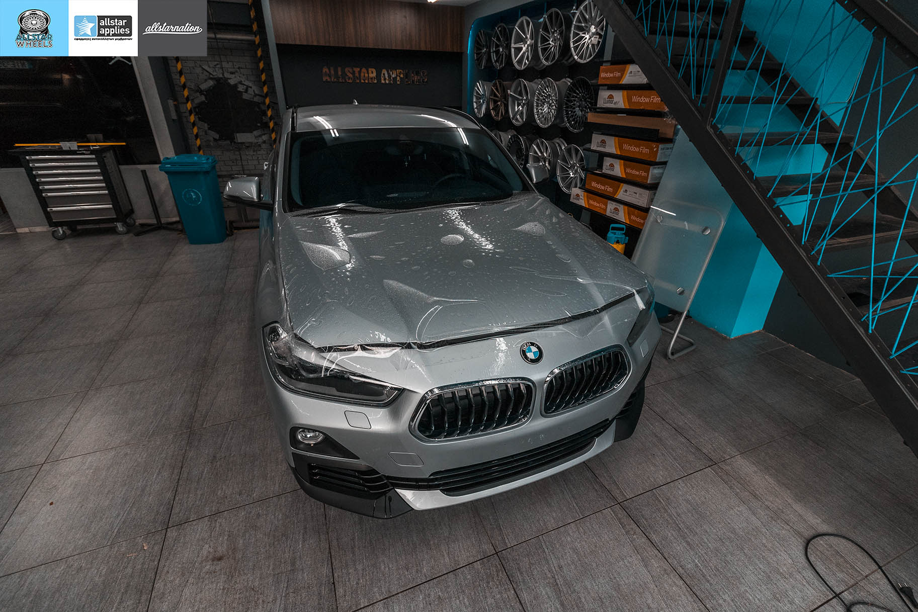 BMW X2 SDRIVE PAINT PROTECTION FILM ALLSTAR APPLIES (3)